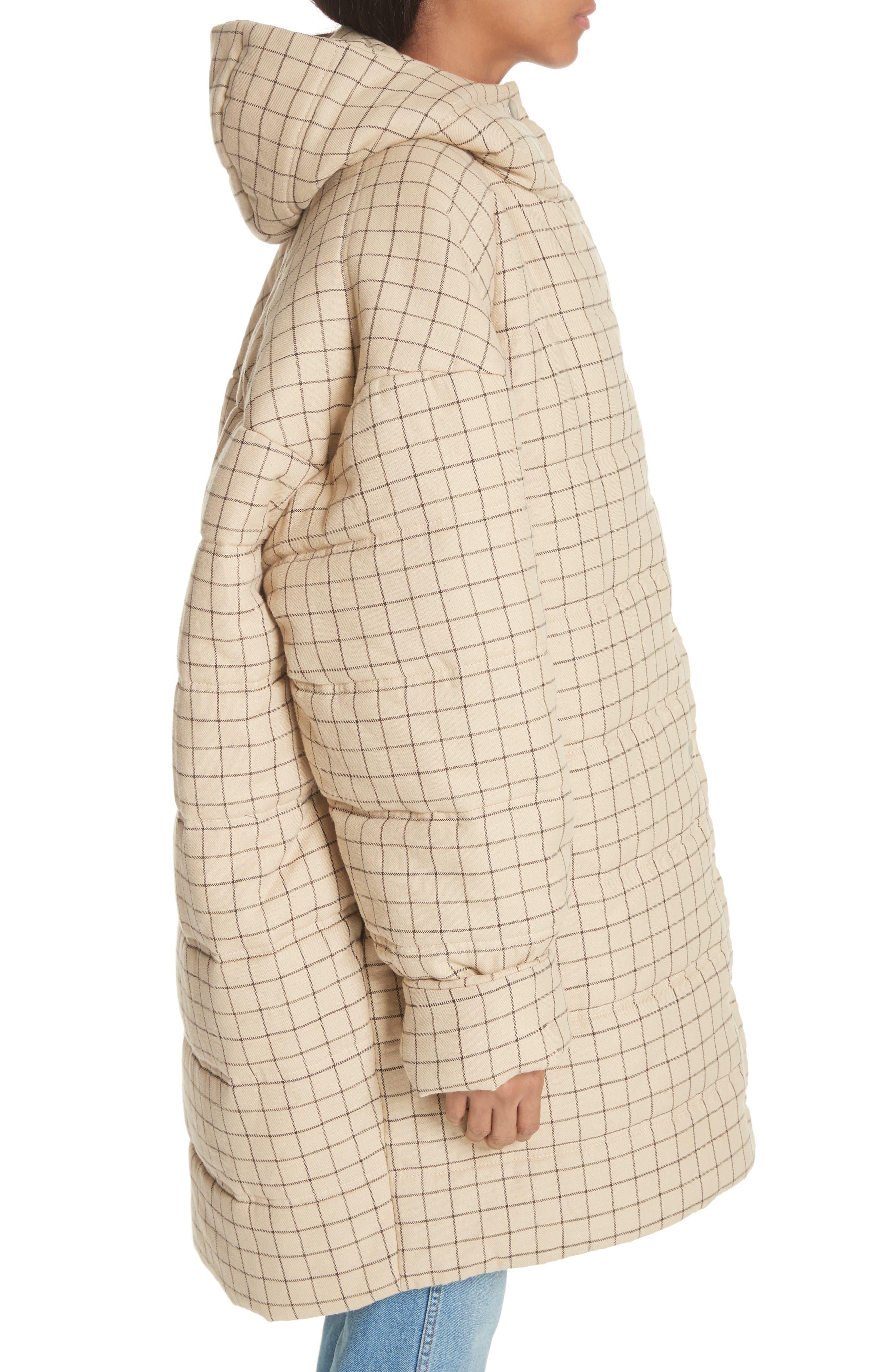 Alternate Image 5  - A.W.A.K.E. Check Puffer Coat