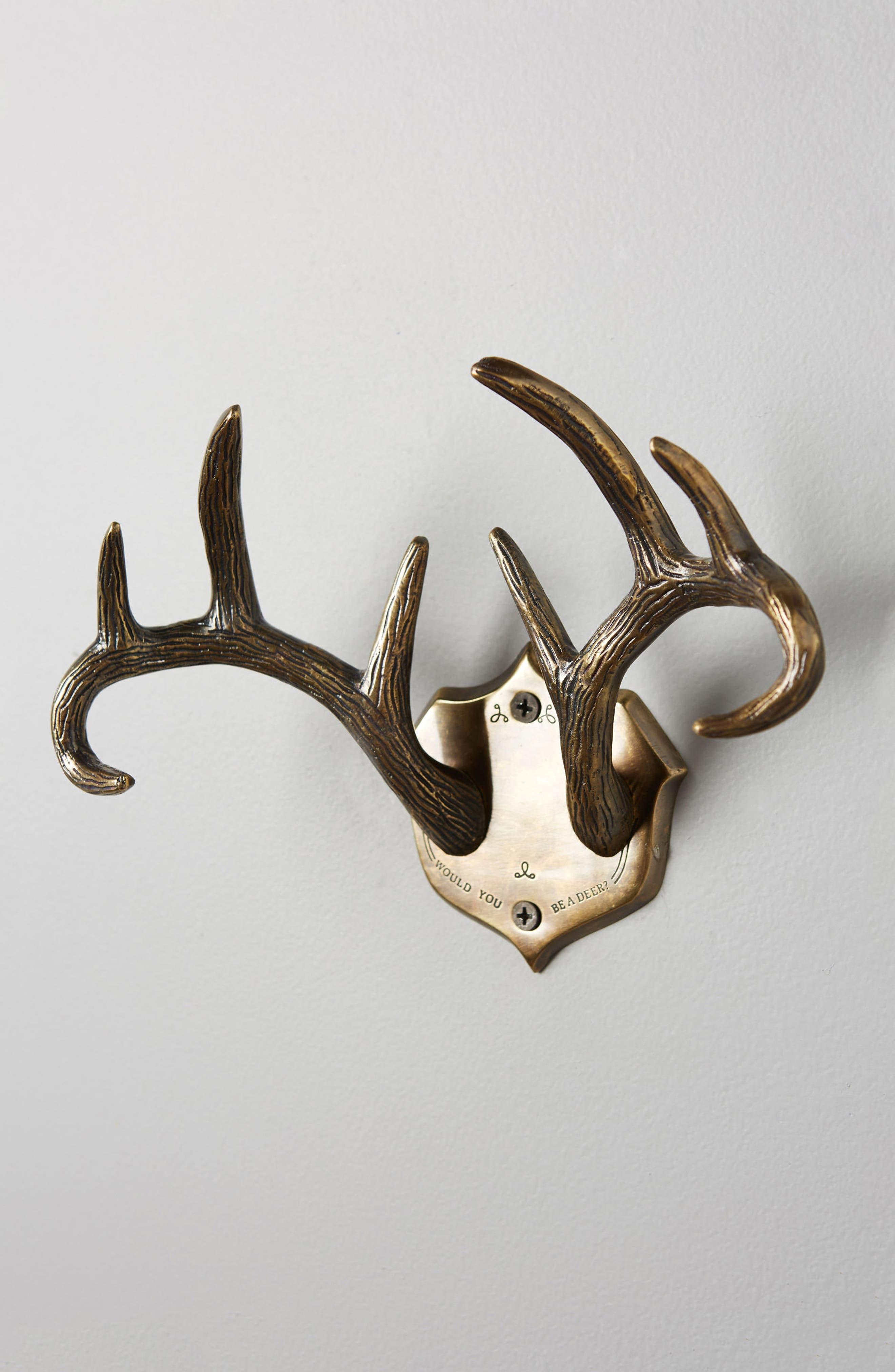 Airen Grove Hook Rack,                             Alternate thumbnail 2, color,                             Bronze