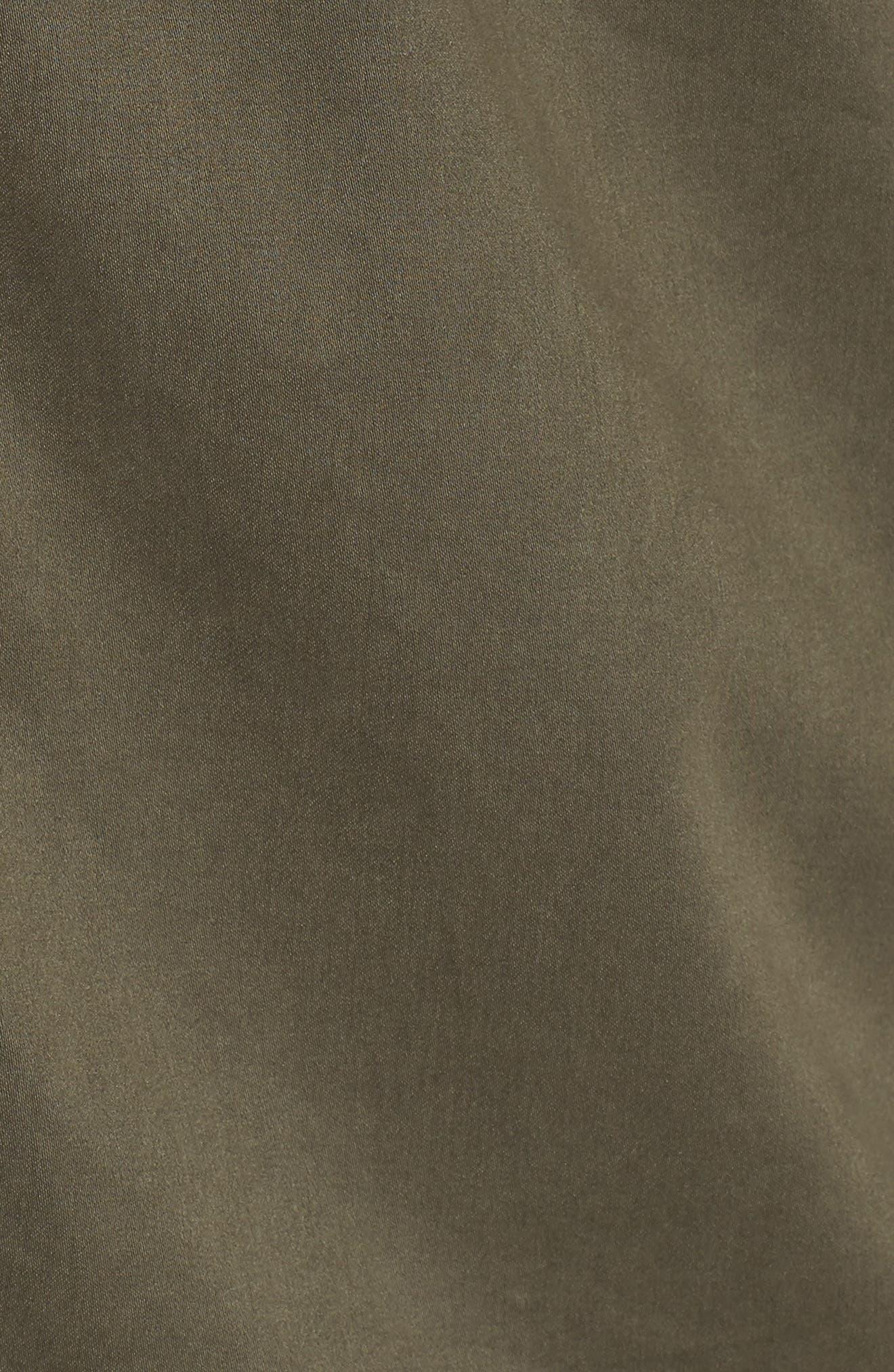 Shirt Jacket,                             Alternate thumbnail 5, color,                             Olive
