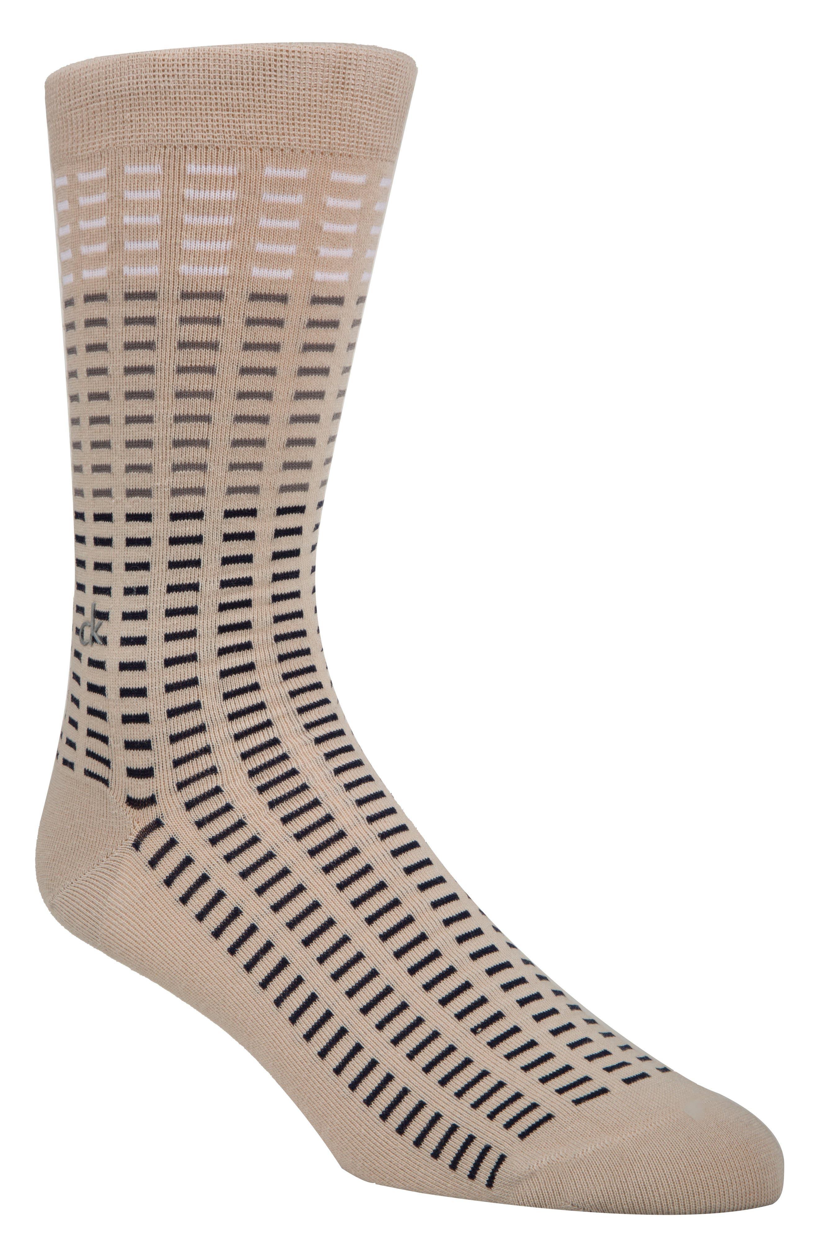 Tile Socks,                             Main thumbnail 1, color,                             Chateau Grey