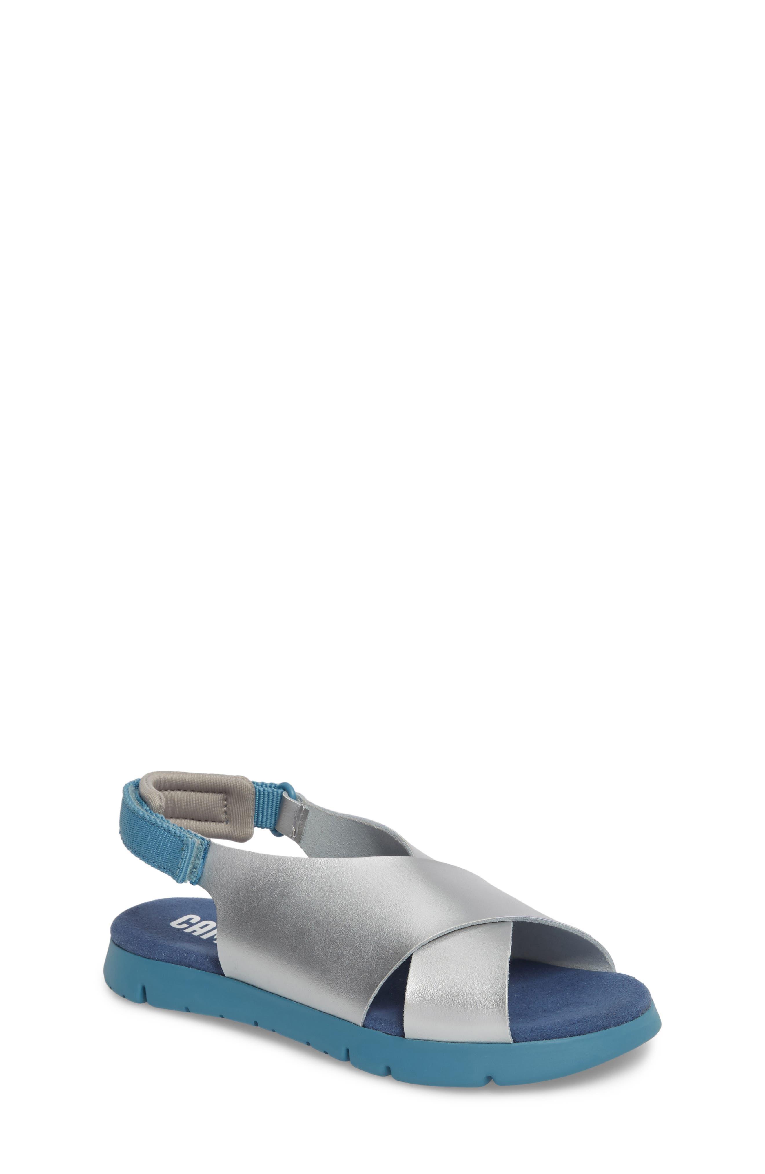 Mira Sandal,                         Main,                         color, Silver