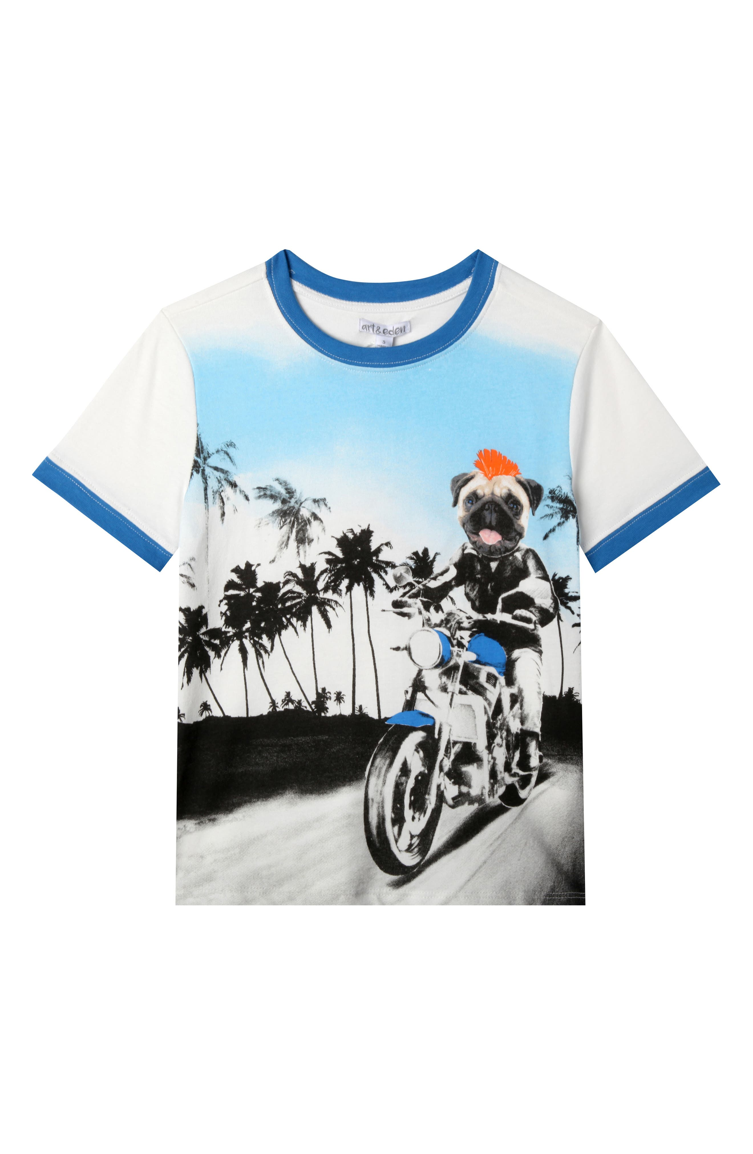 Christopher T-Shirt,                             Main thumbnail 1, color,                             Egret