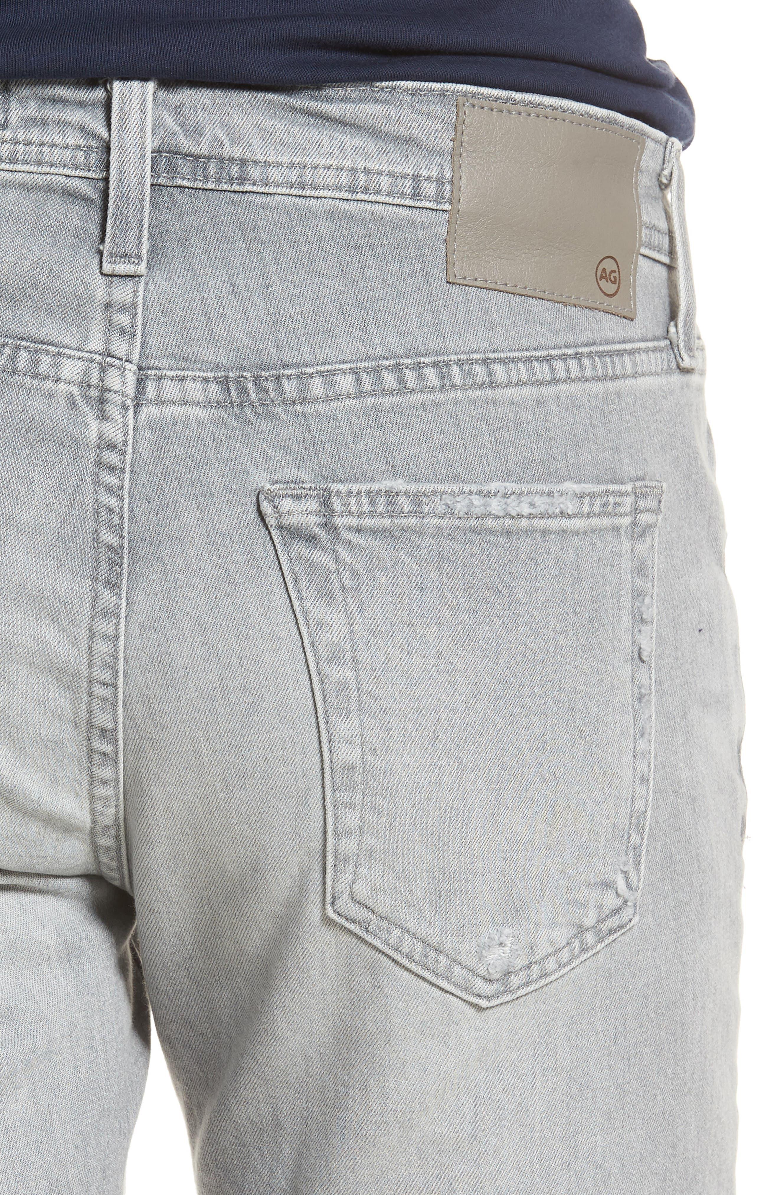 Tellis Slim Fit Jeans,                             Alternate thumbnail 4, color,                             21 Years Sketch