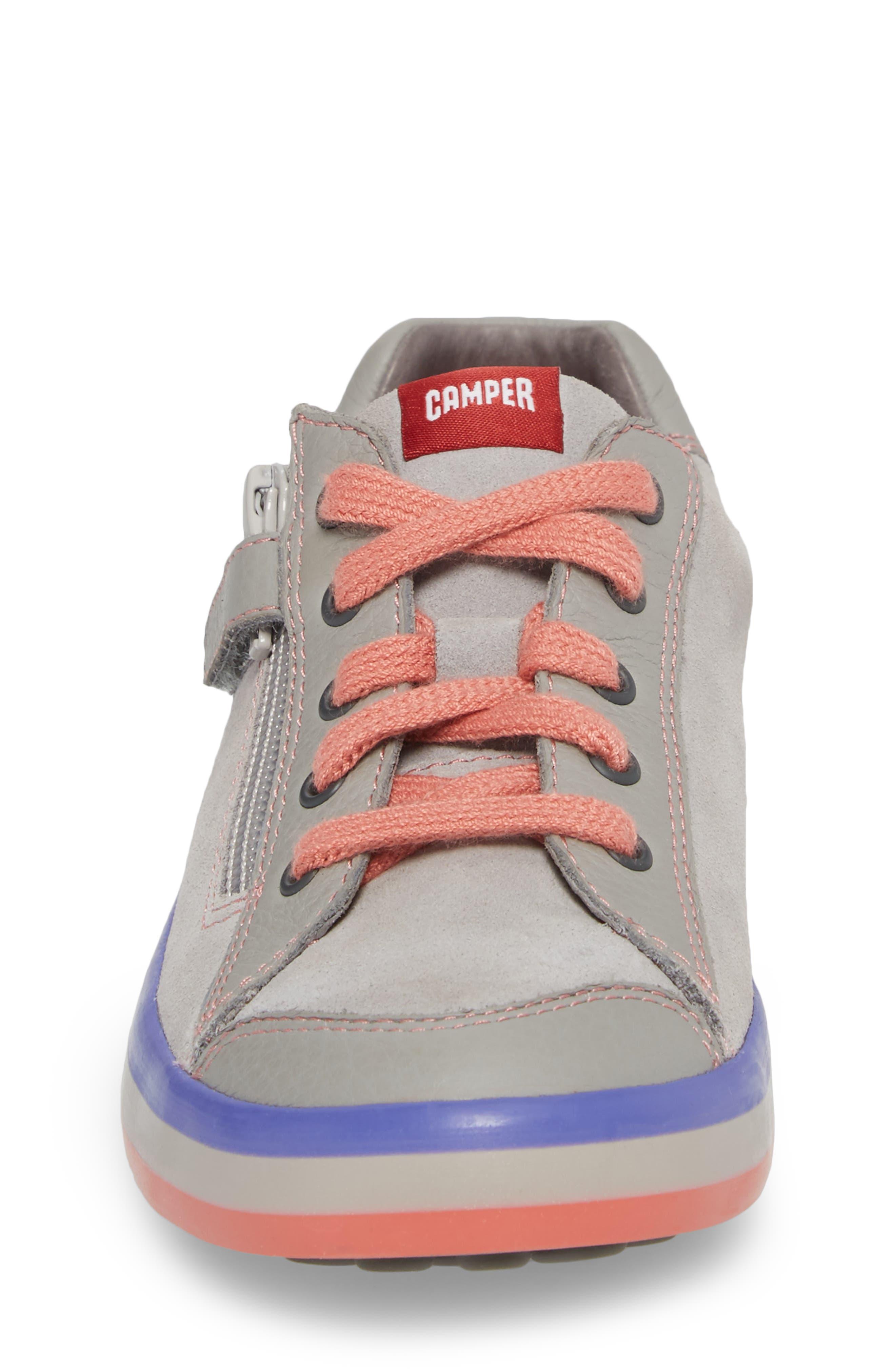 Pursuit Sneaker,                             Alternate thumbnail 4, color,                             Light Grey