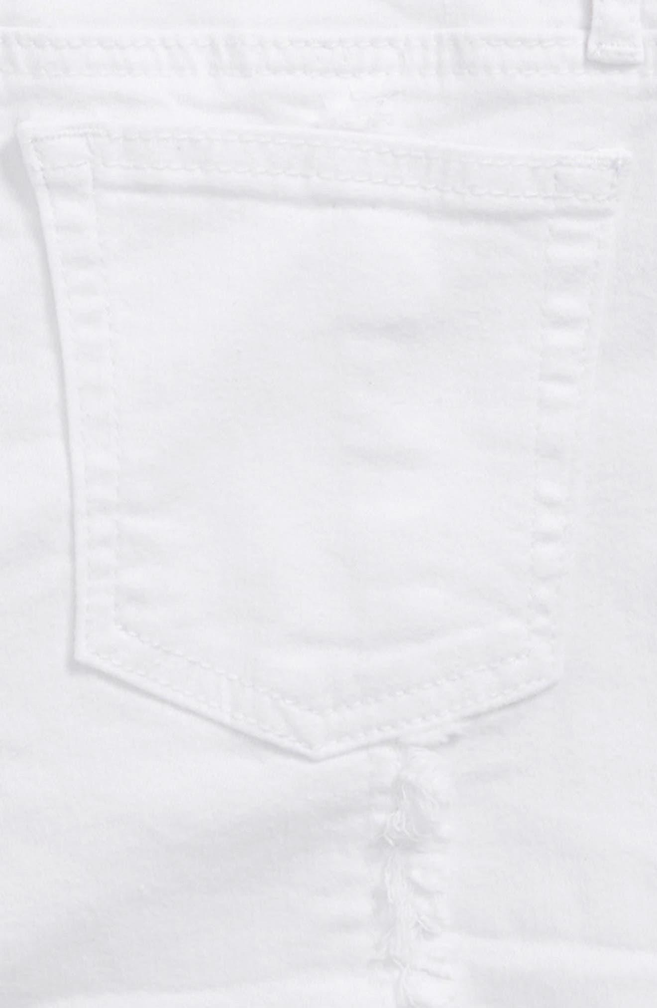 AG The Sandy Shorts,                             Alternate thumbnail 3, color,                             White