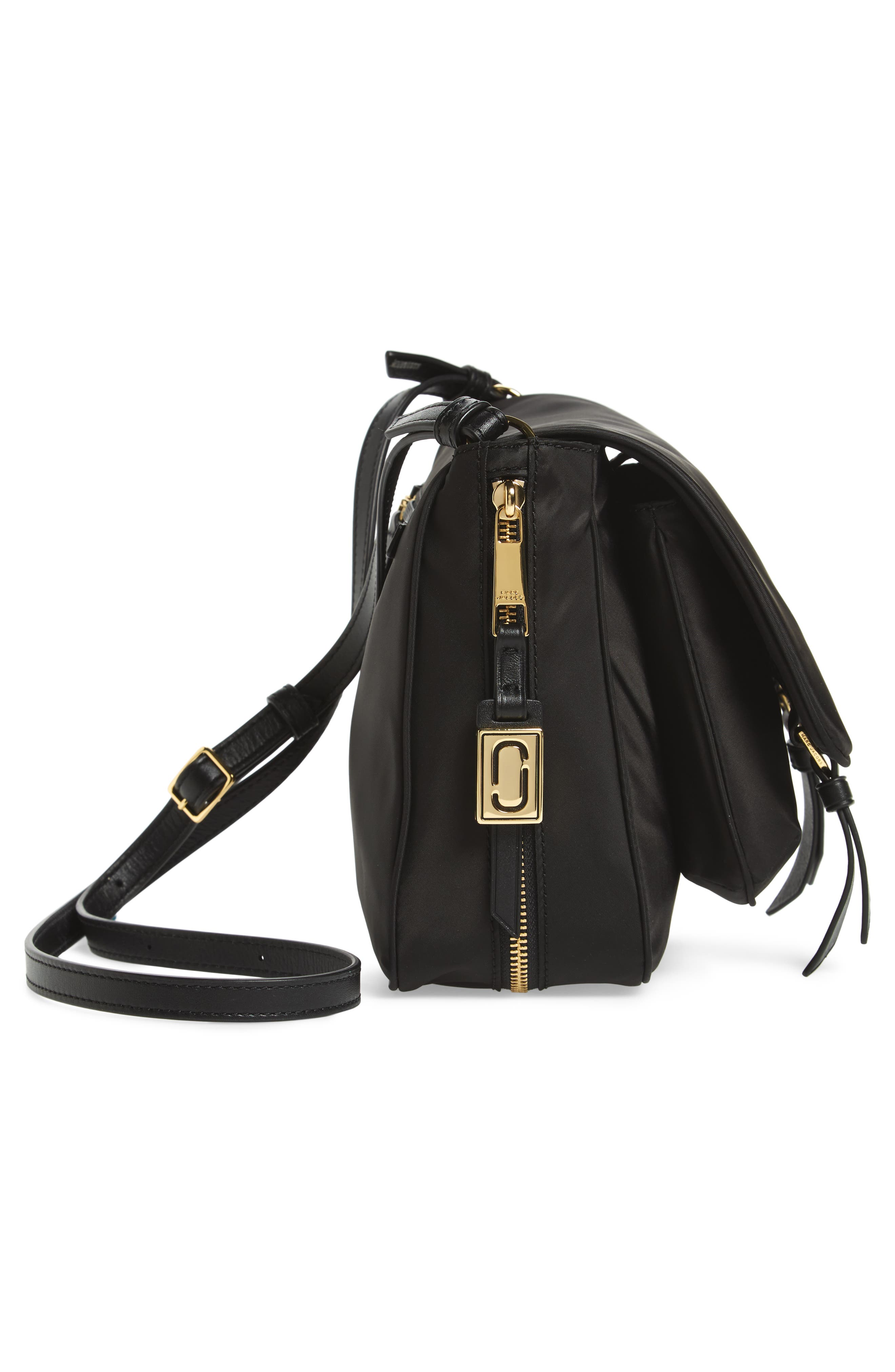 Zip That Small Messenger Bag,                             Alternate thumbnail 5, color,                             Black