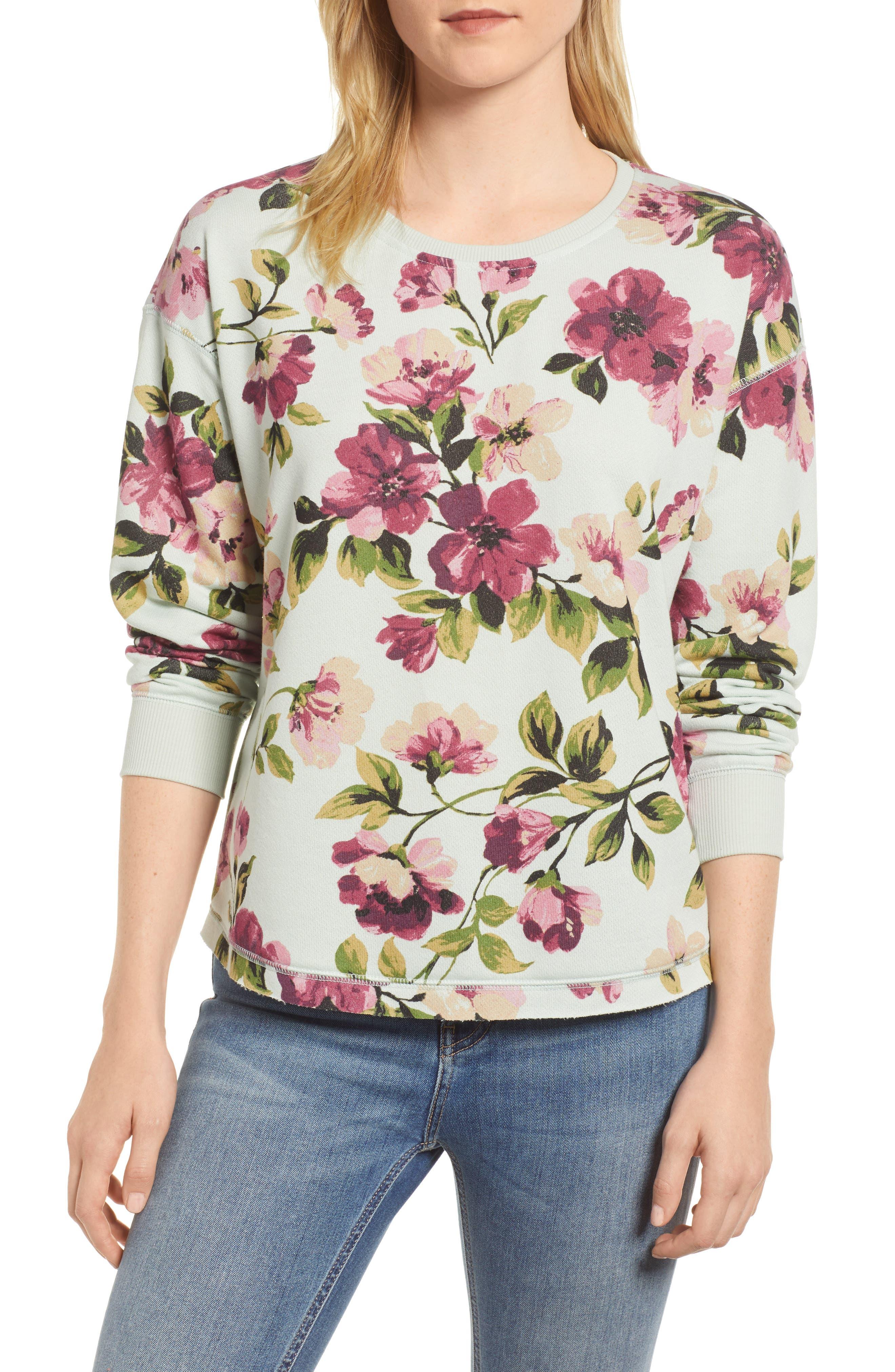 Gibson Print Sweatshirt (Regular & Petite)
