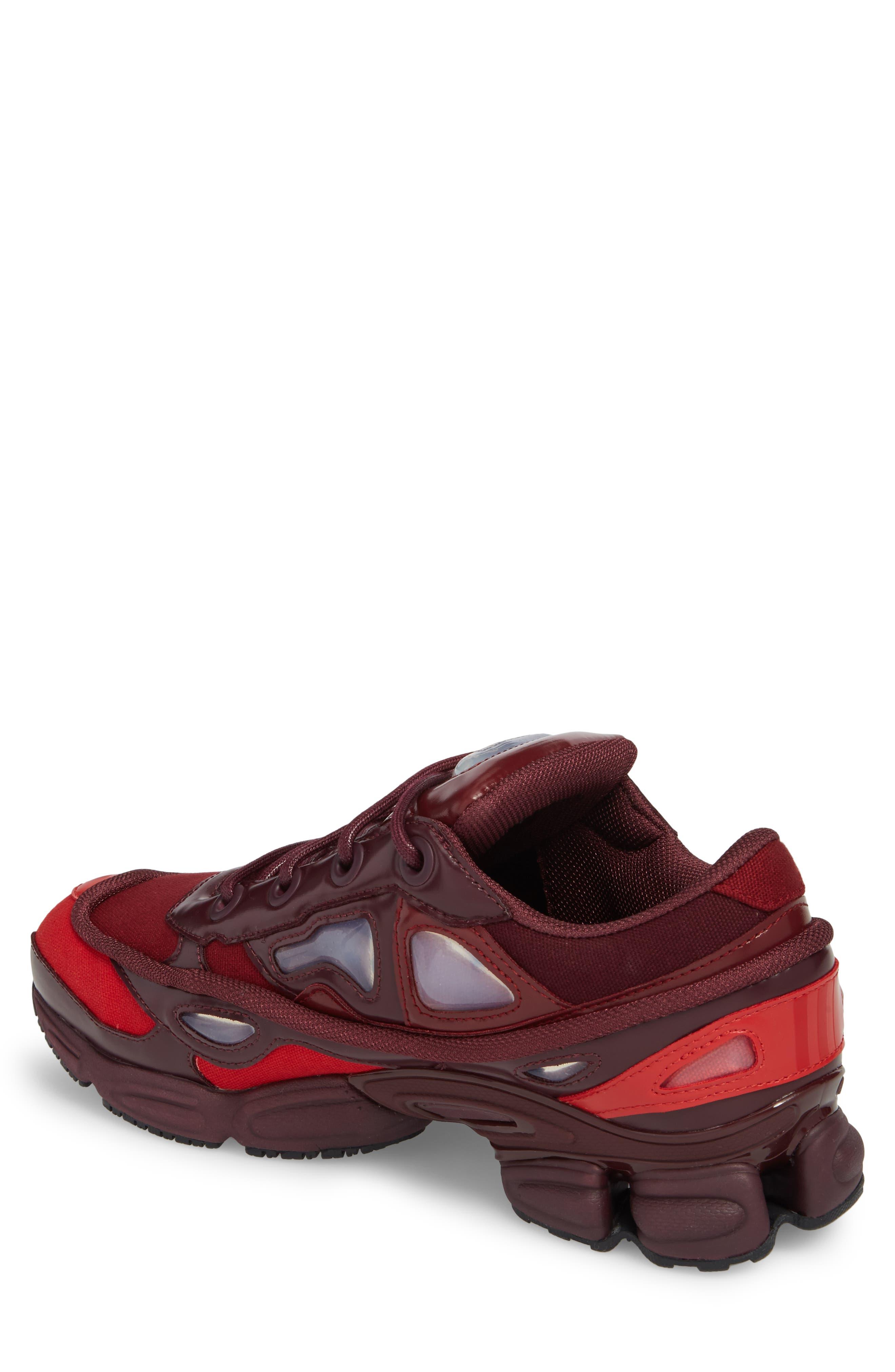 adidas by Raf Simons Ozweego III Sneaker,                             Alternate thumbnail 2, color,                             Burgundy/ Maroon/ Scarlet