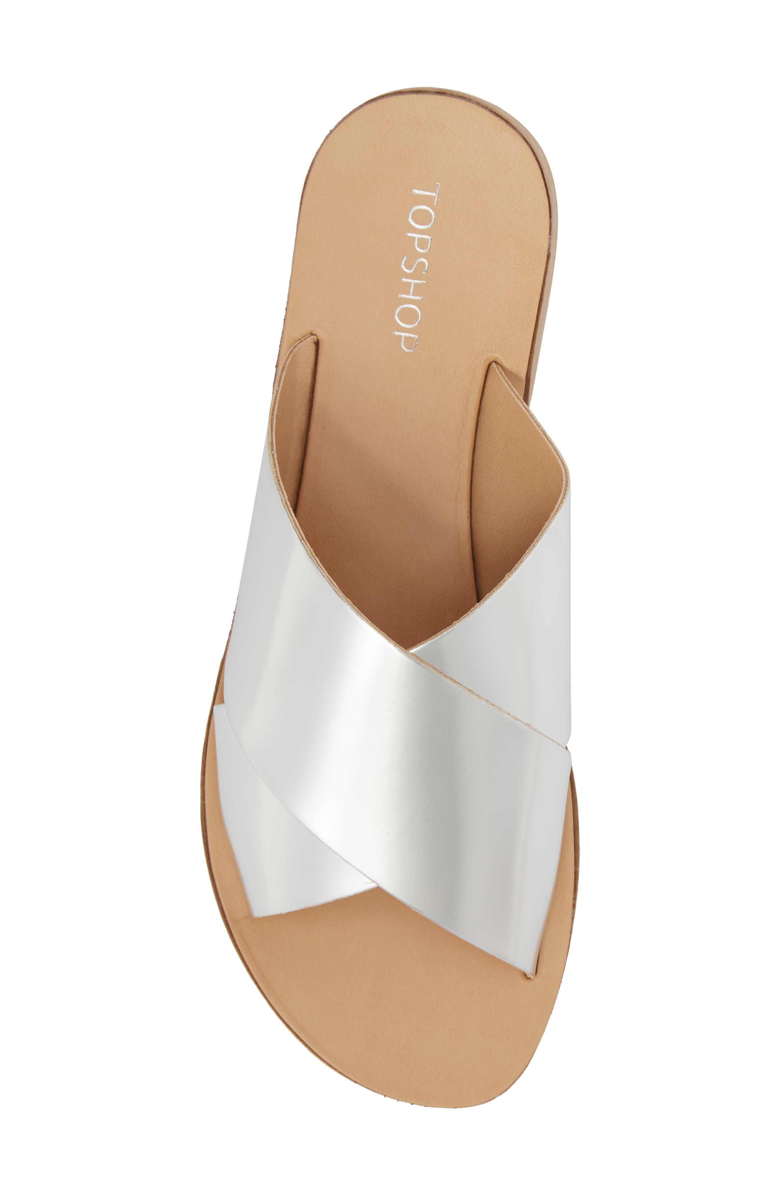 Alternate Image 5  - Topshop Hawaii Crisscross Sandal (Women)