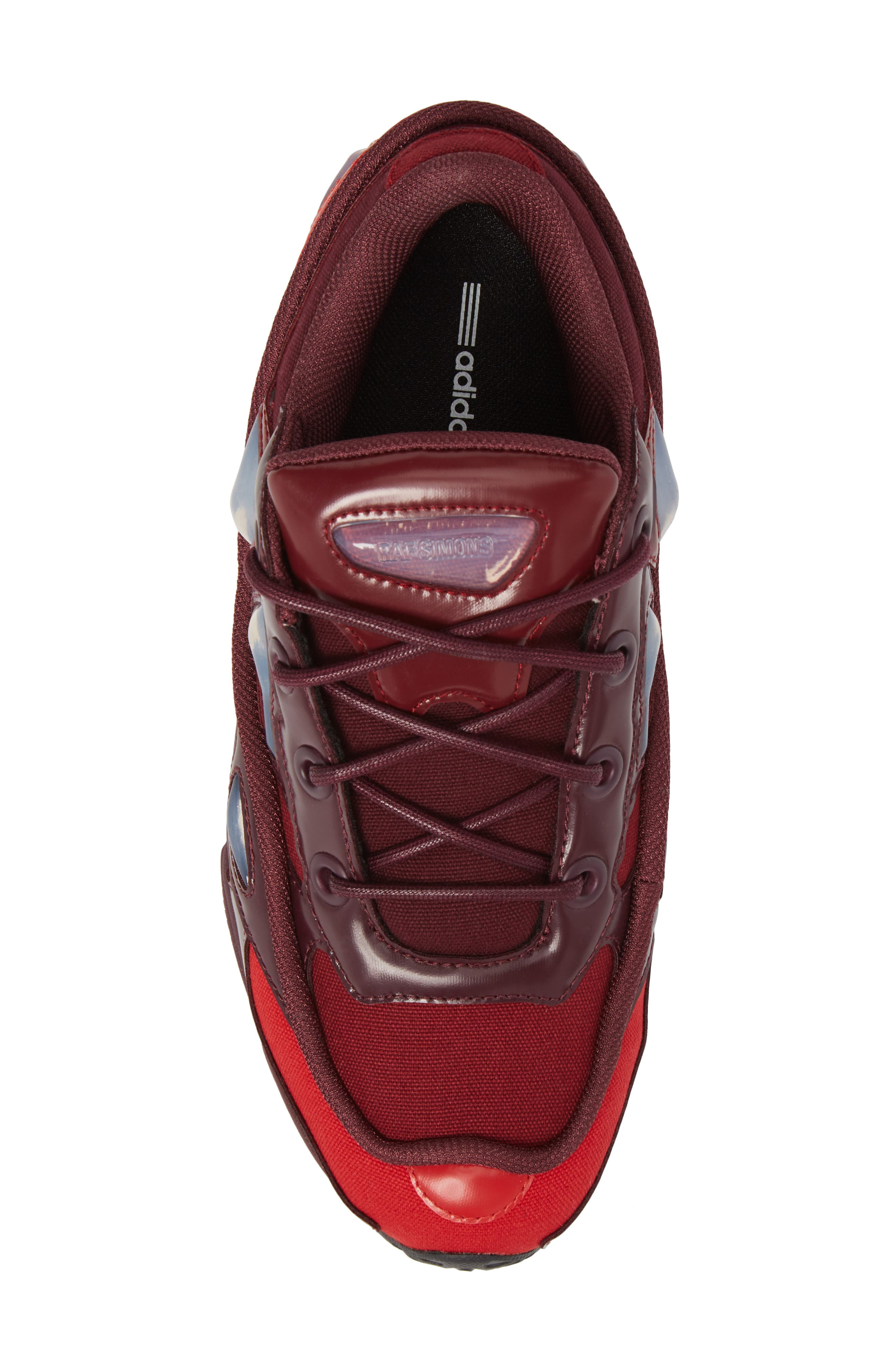 adidas by Raf Simons Ozweego III Sneaker,                             Alternate thumbnail 5, color,                             Burgundy/ Maroon/ Scarlet