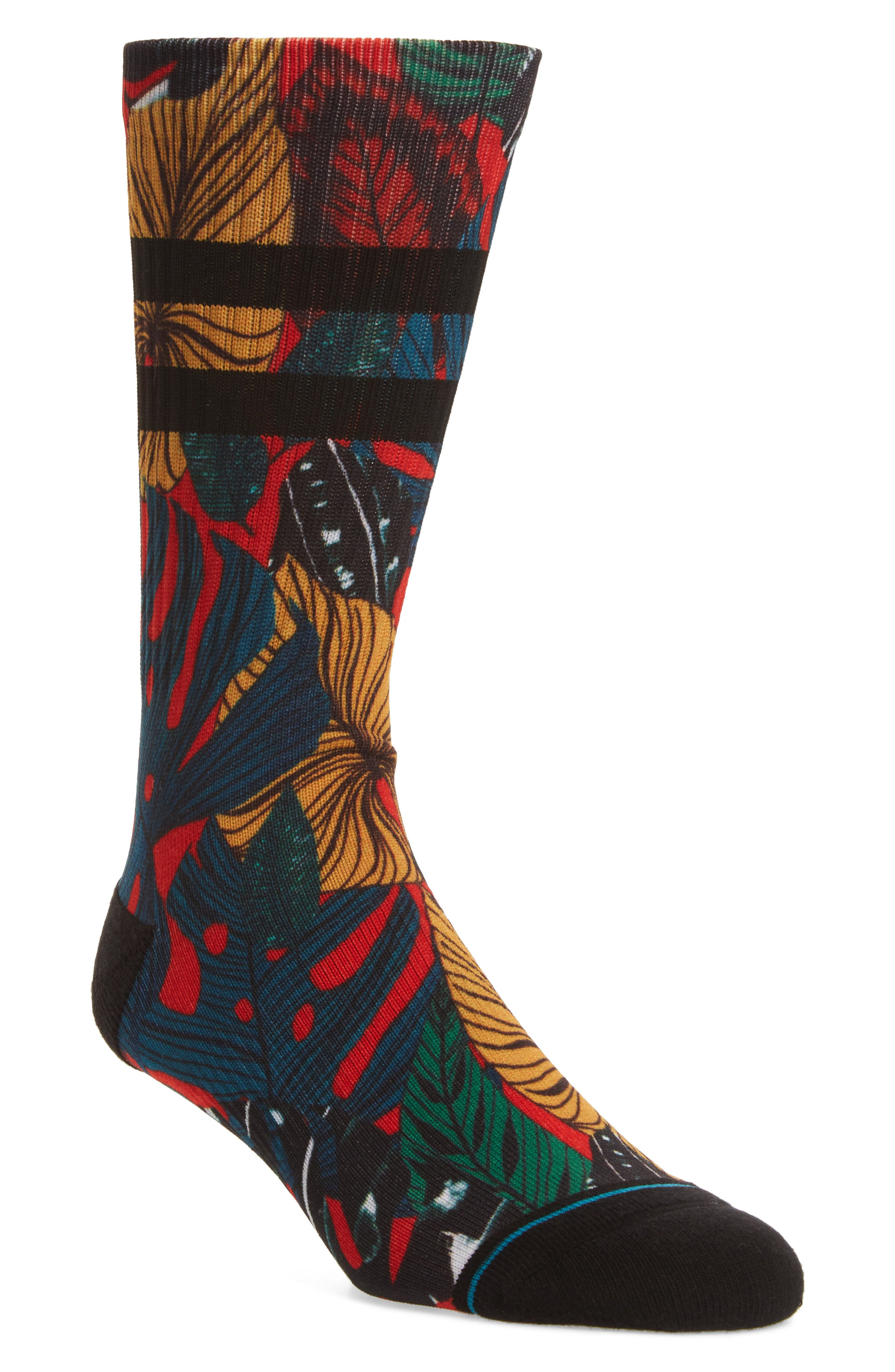 House Plant Socks,                             Main thumbnail 1, color,                             Red