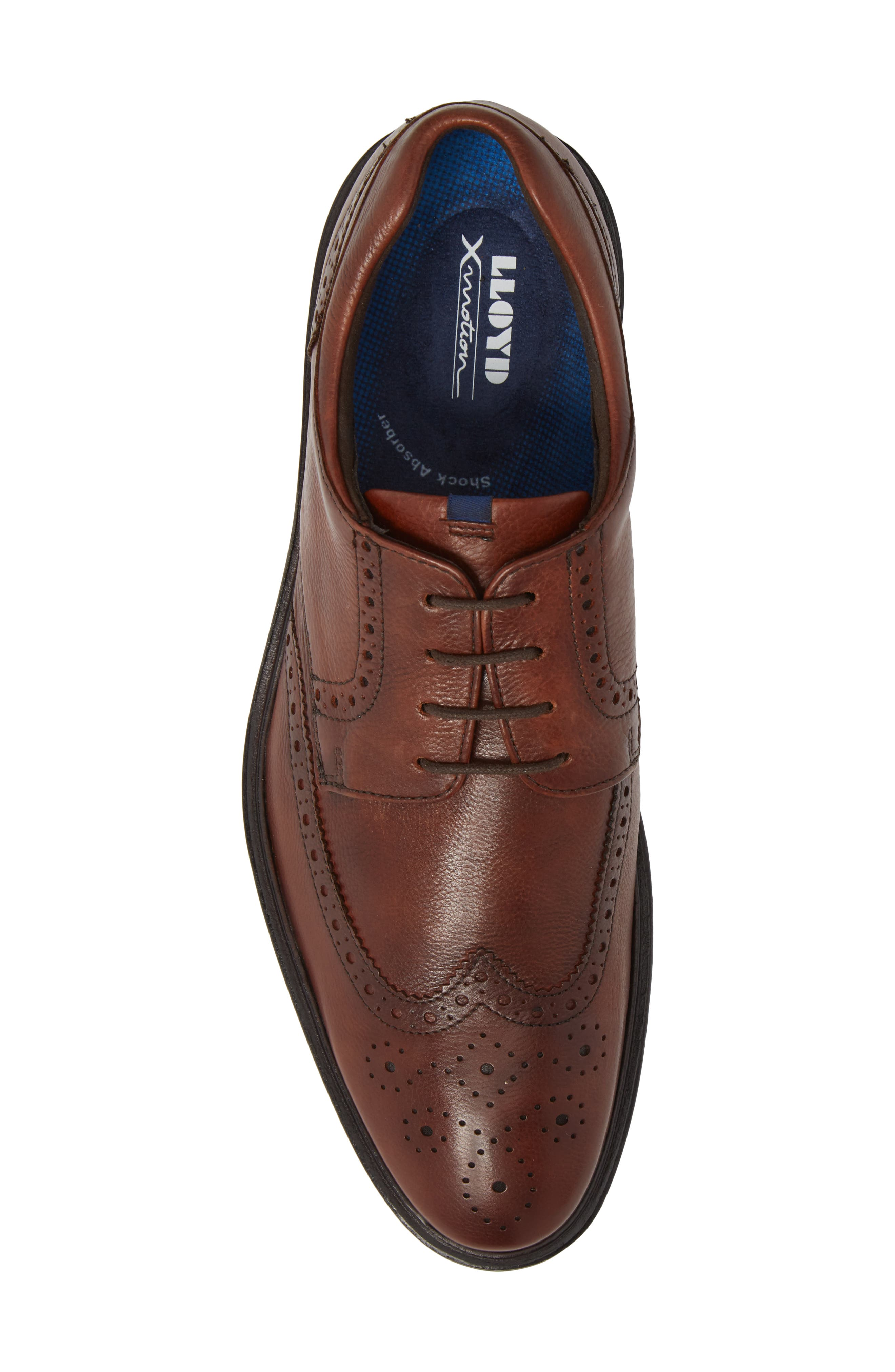 Marian Wingtip,                             Alternate thumbnail 5, color,                             Cafe Leather