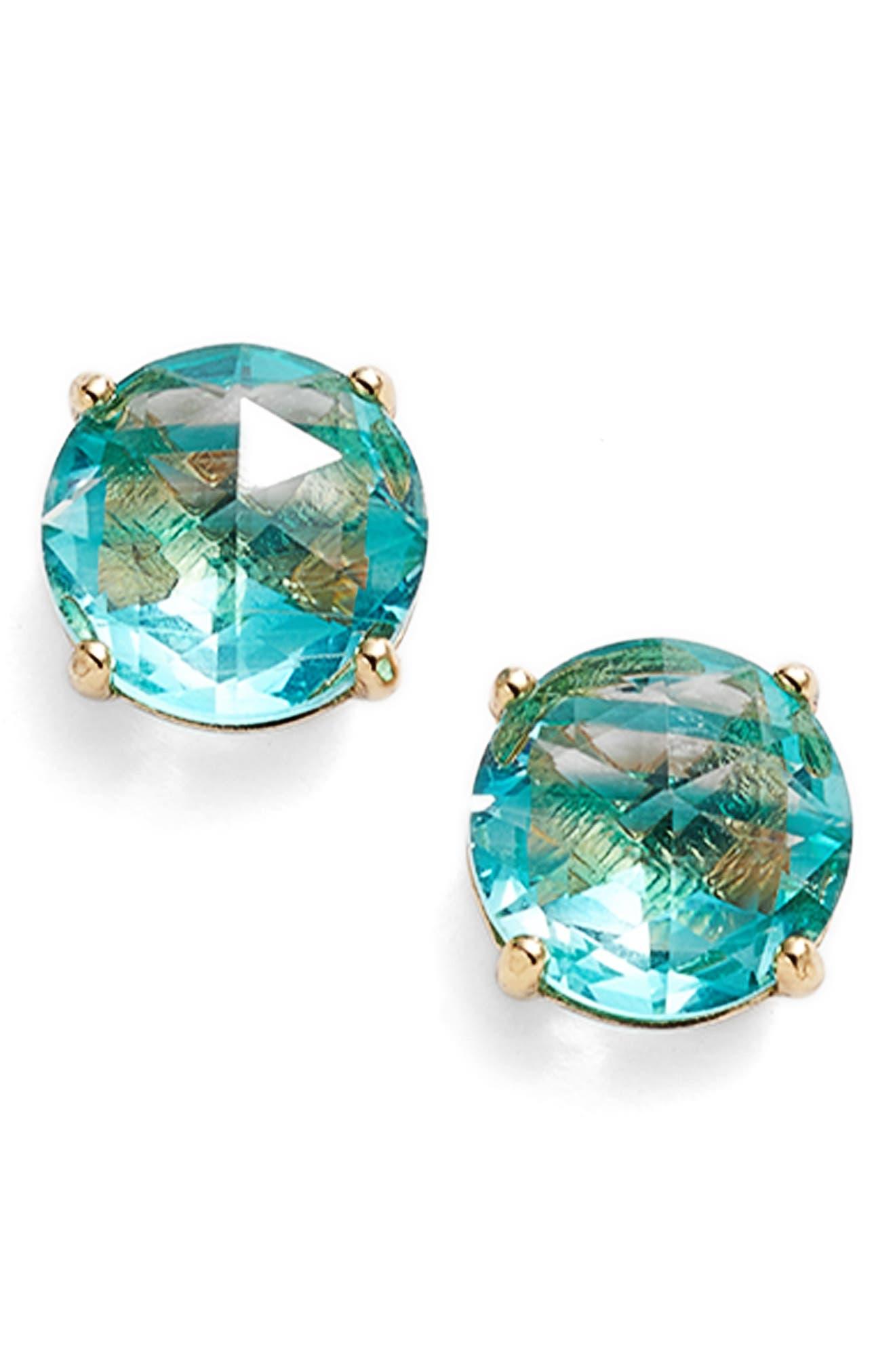 bright ideas stripe stud earrings,                         Main,                         color, Turquoise Multi