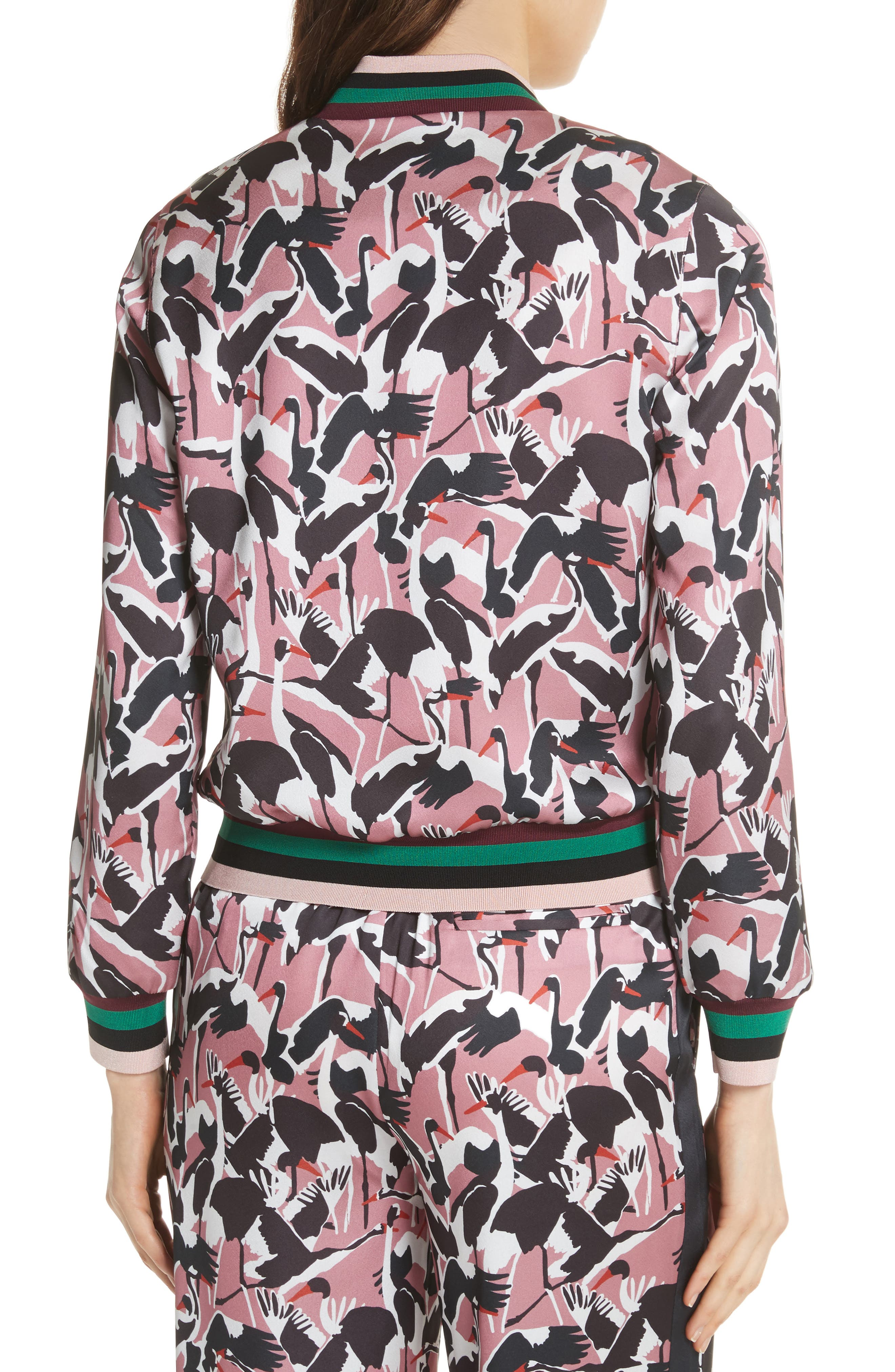 Colour by Numbers Oosel Bomber Jacket,                             Alternate thumbnail 2, color,                             Dusky Pink