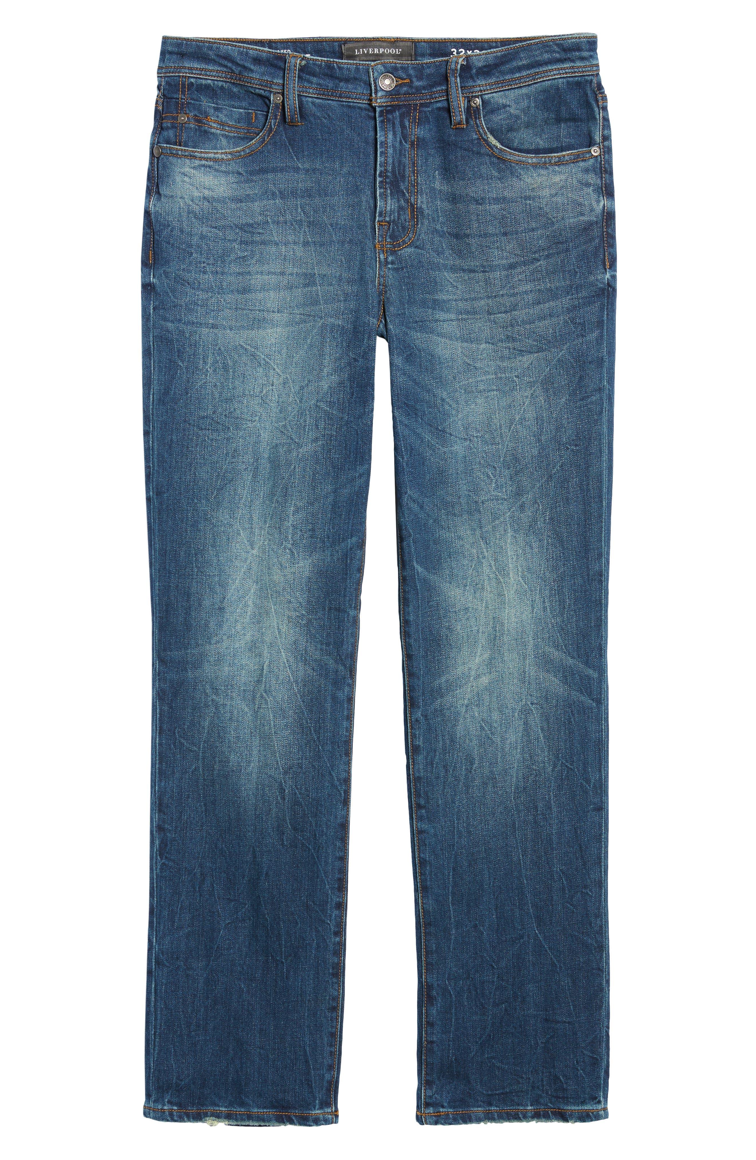 Jeans Co. Regent Relaxed Fit Jeans,                             Alternate thumbnail 6, color,                             Odessa Vintage Medium