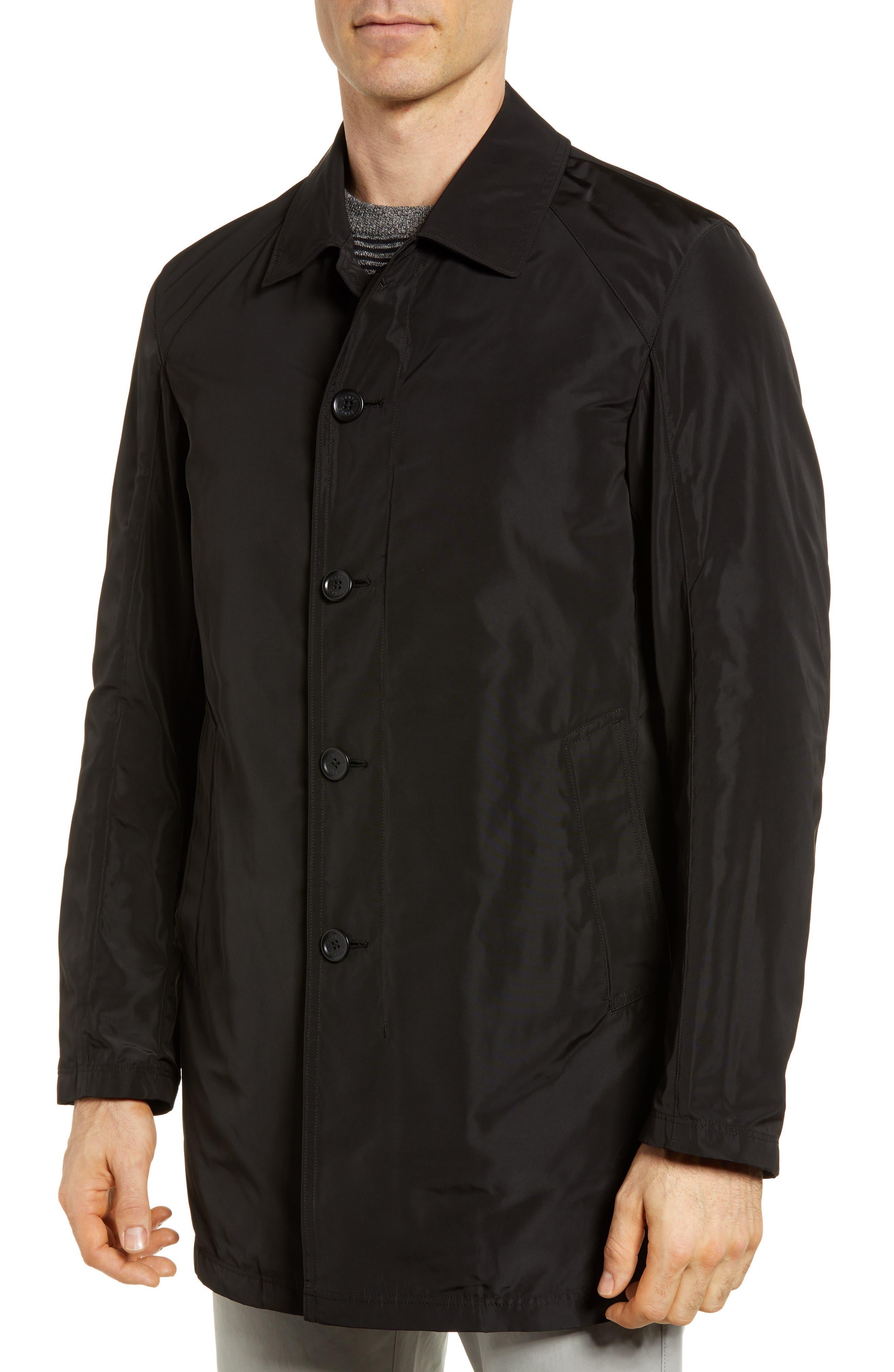 S/B Raincoat,                             Alternate thumbnail 4, color,                             Black