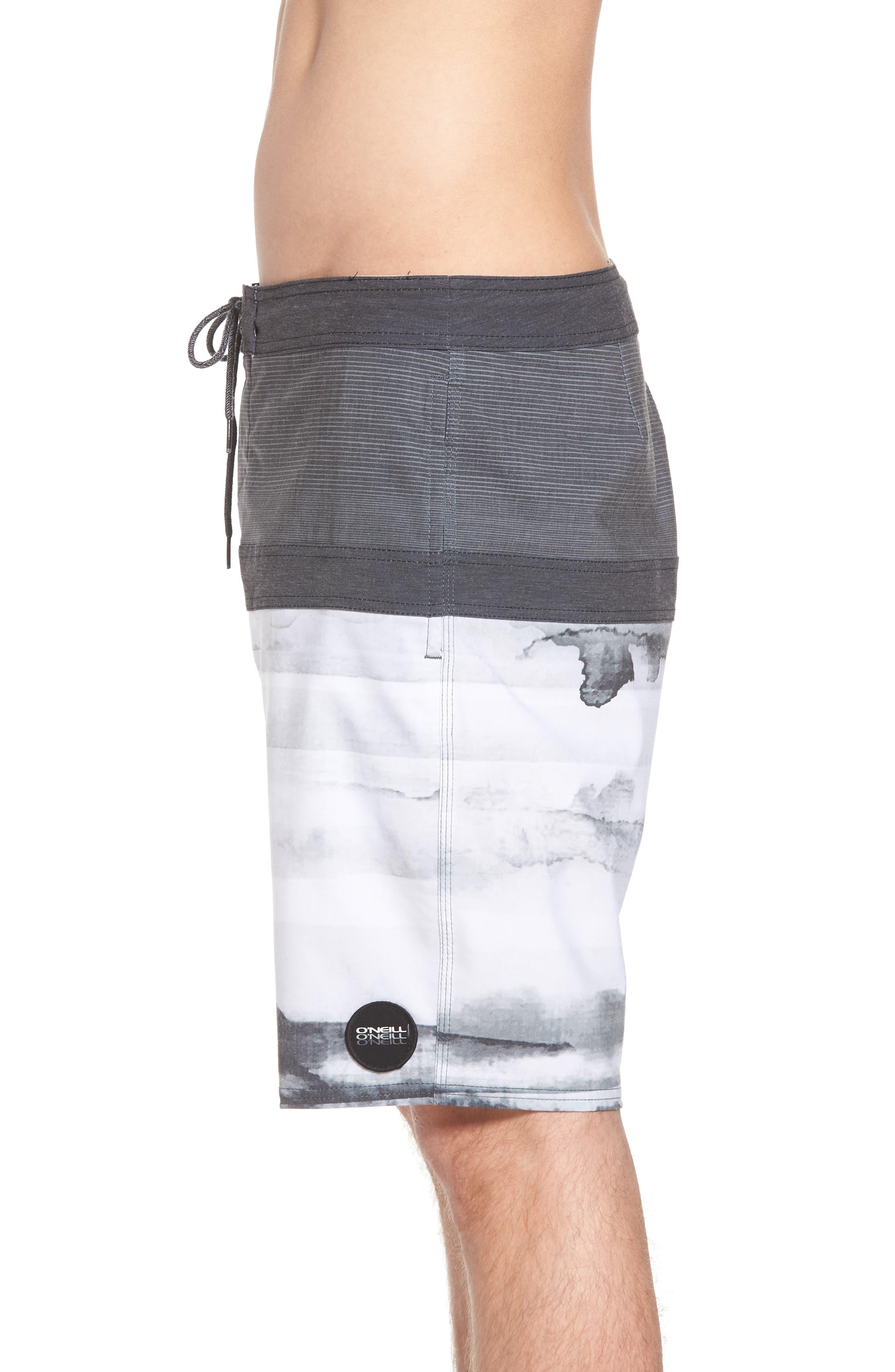 Breaker Cruzer Board Shorts,                             Alternate thumbnail 3, color,                             Black