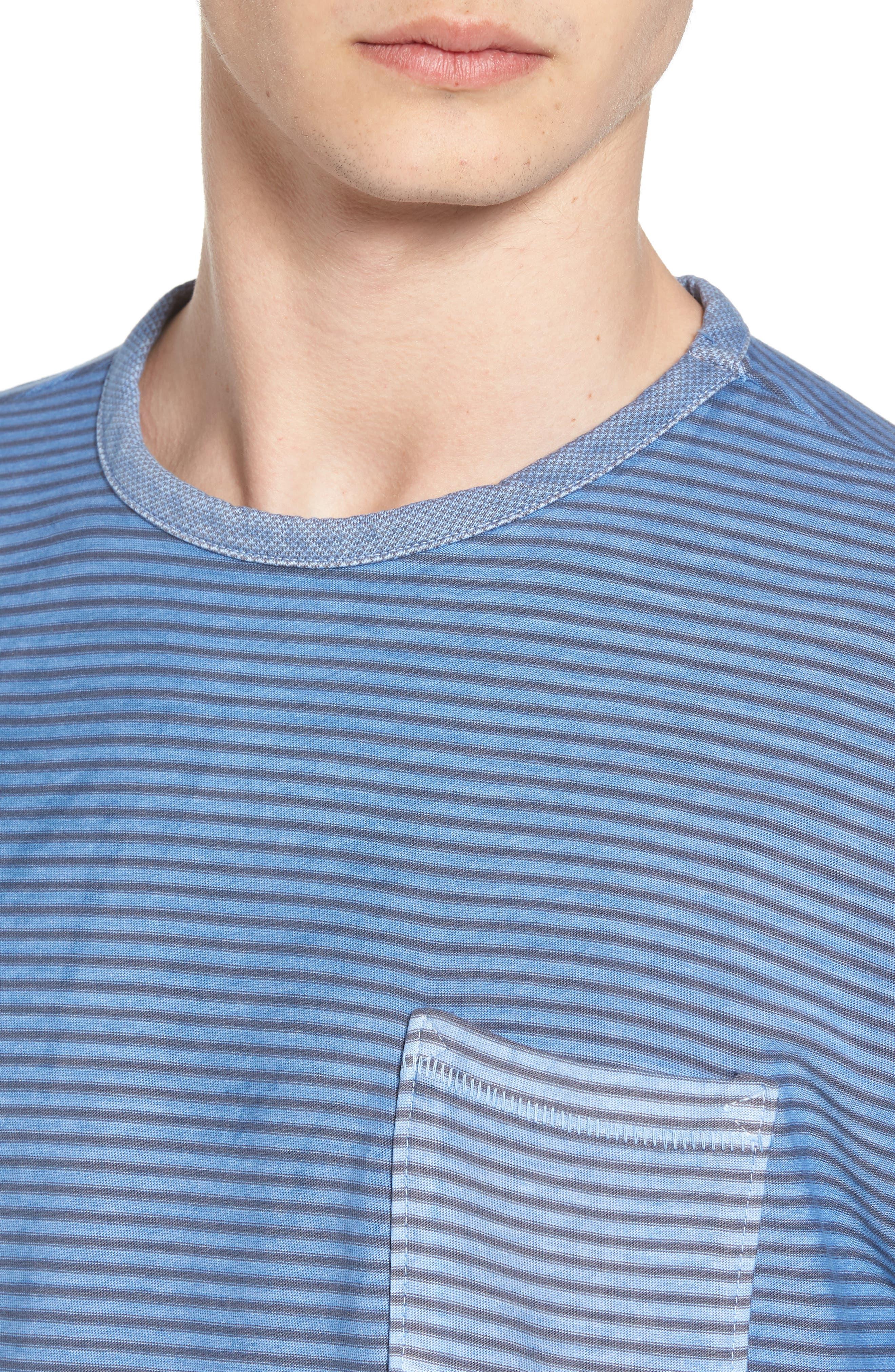 Stringer T-Shirt,                             Alternate thumbnail 4, color,                             Powder Blue