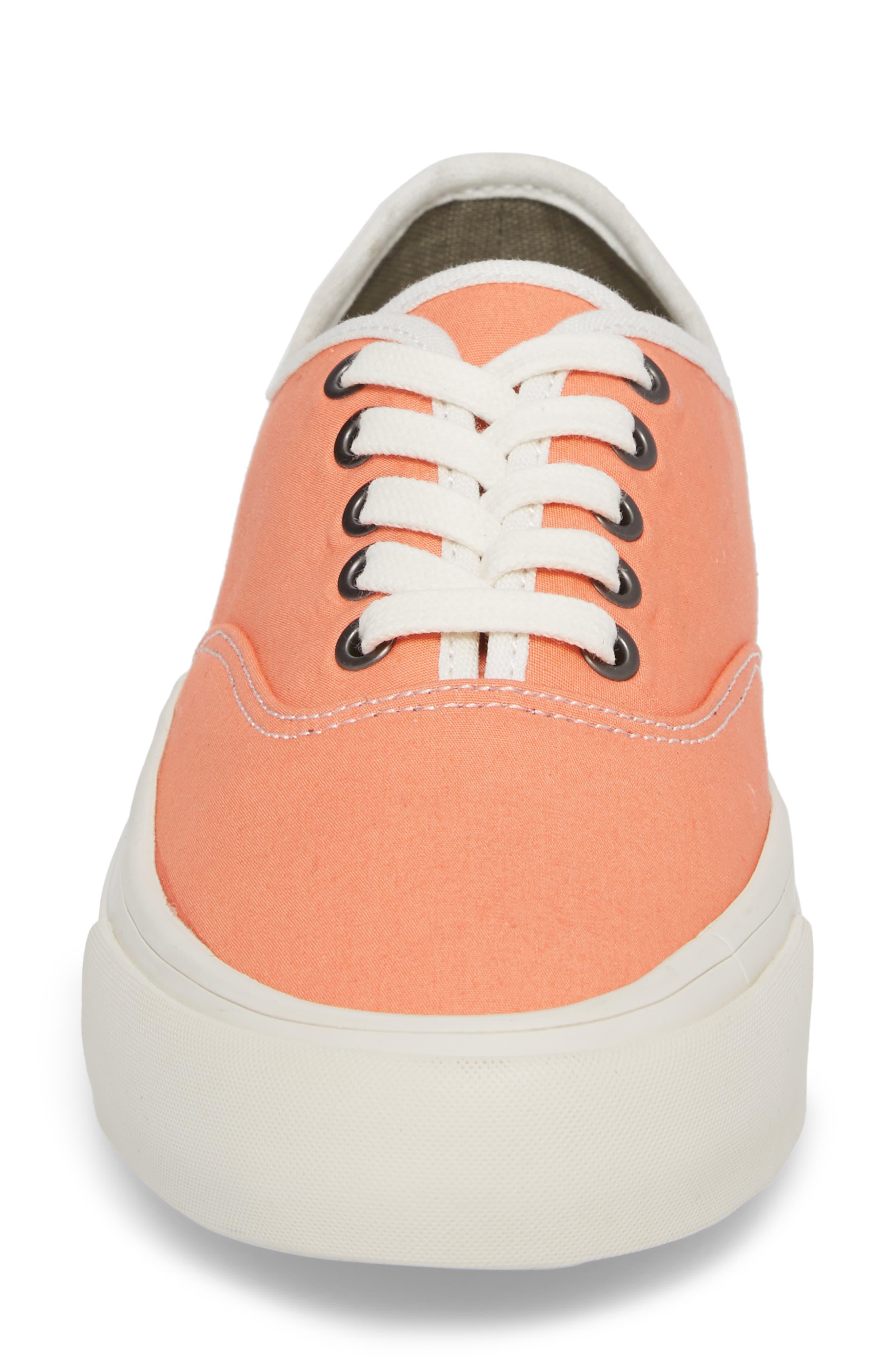 Legend Standard Sneaker,                             Alternate thumbnail 4, color,                             Coral