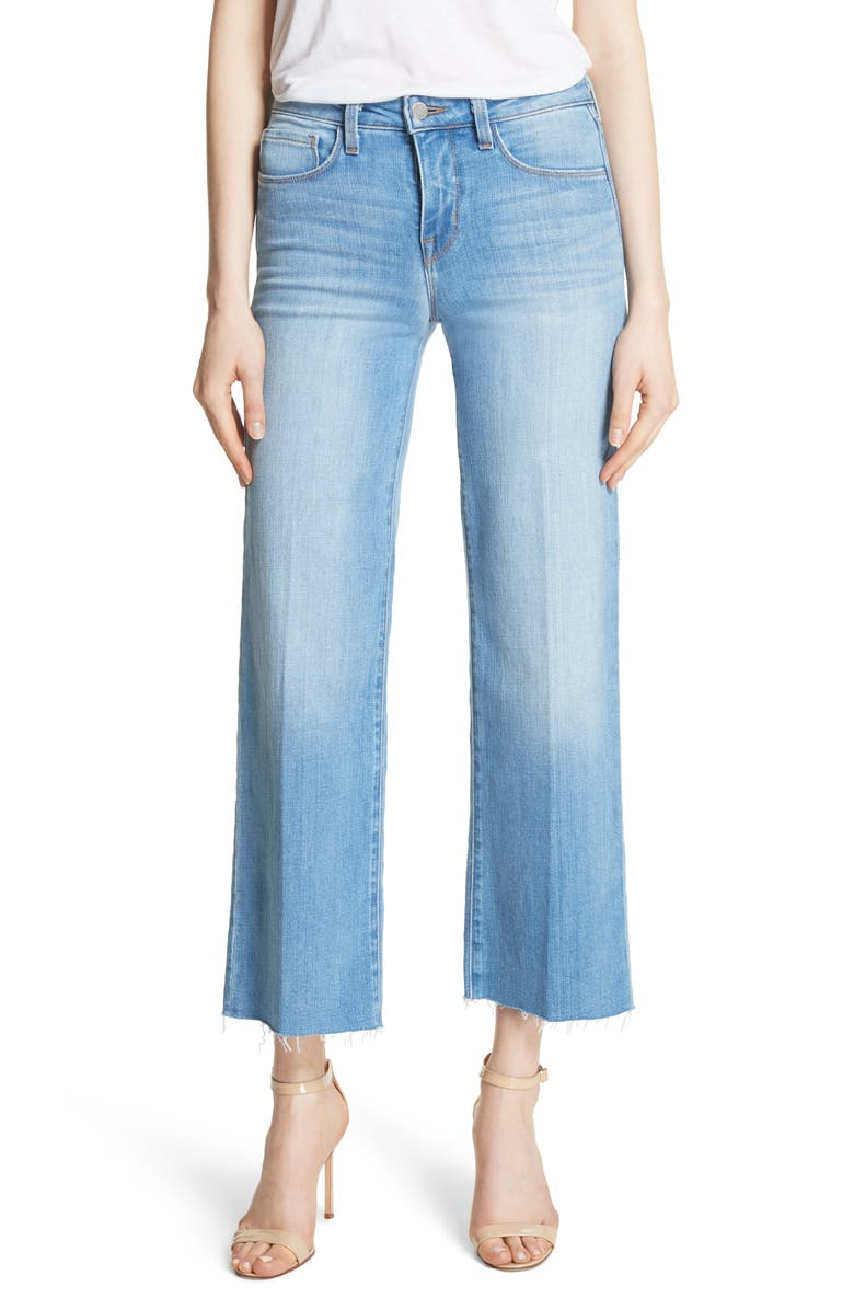 Danica Crop Wide Leg Jeans