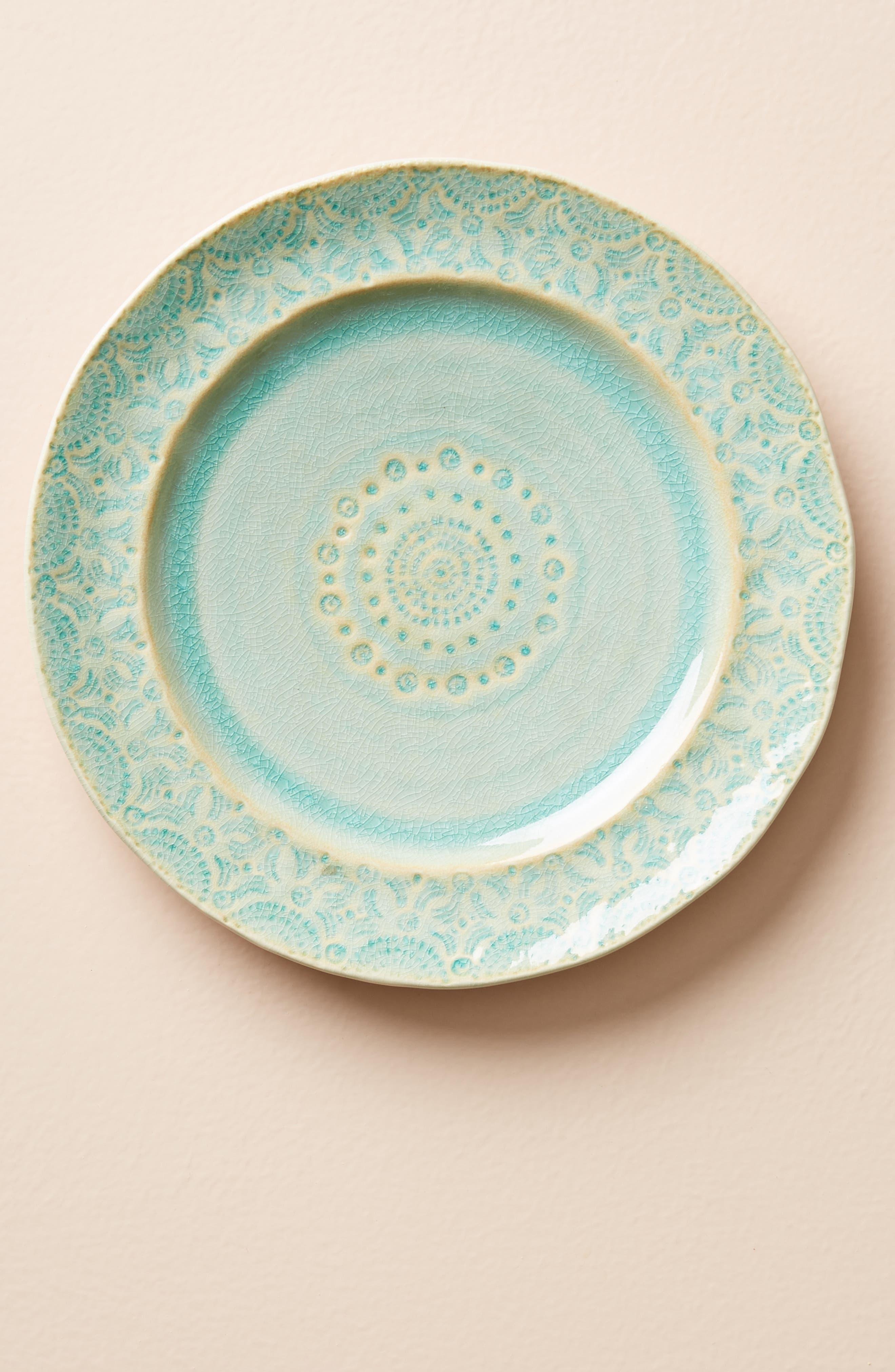Old Havana Stoneware Side Plate,                         Main,                         color, Mint