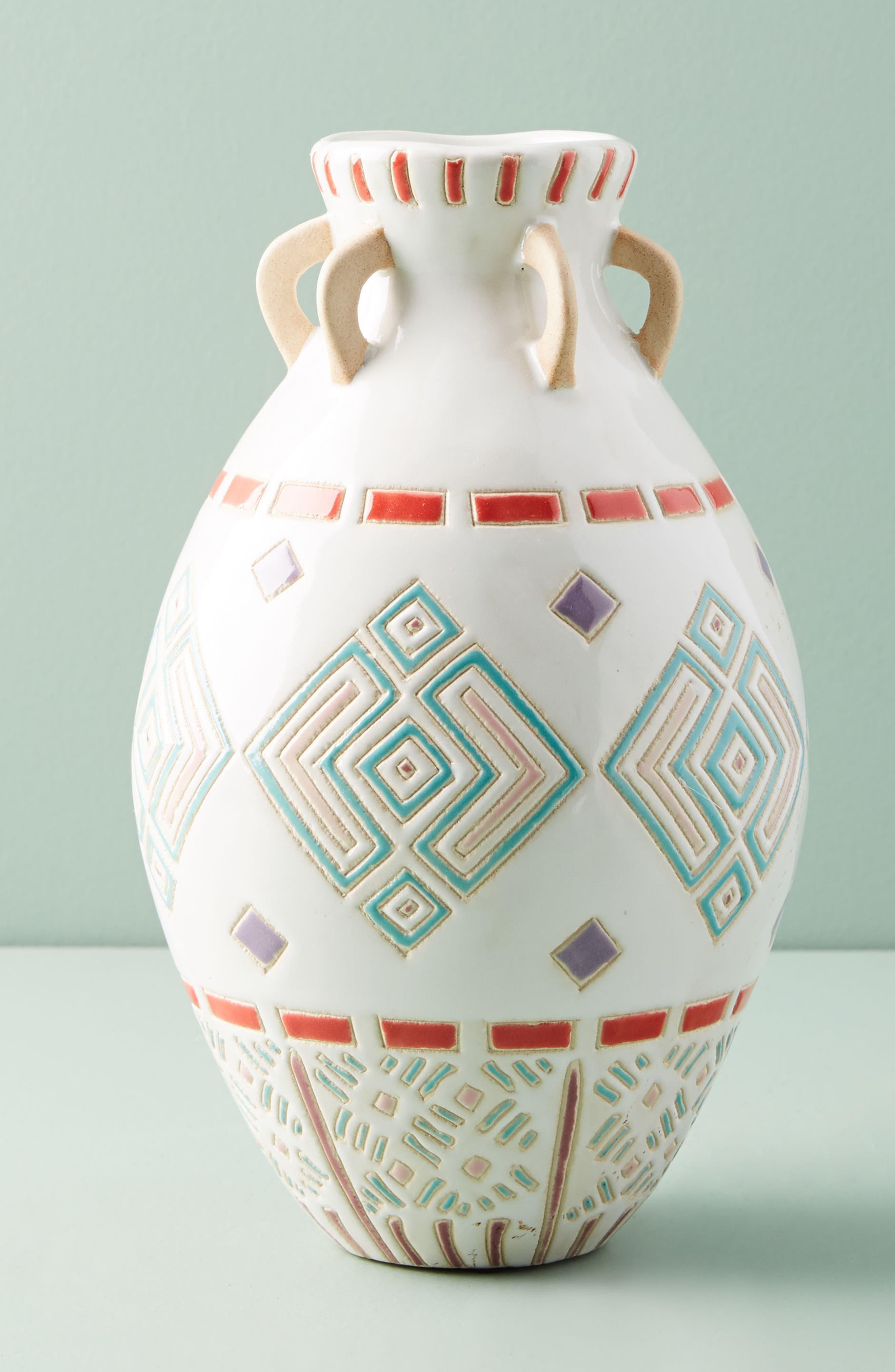 Petra Vase,                         Main,                         color, Black Combo