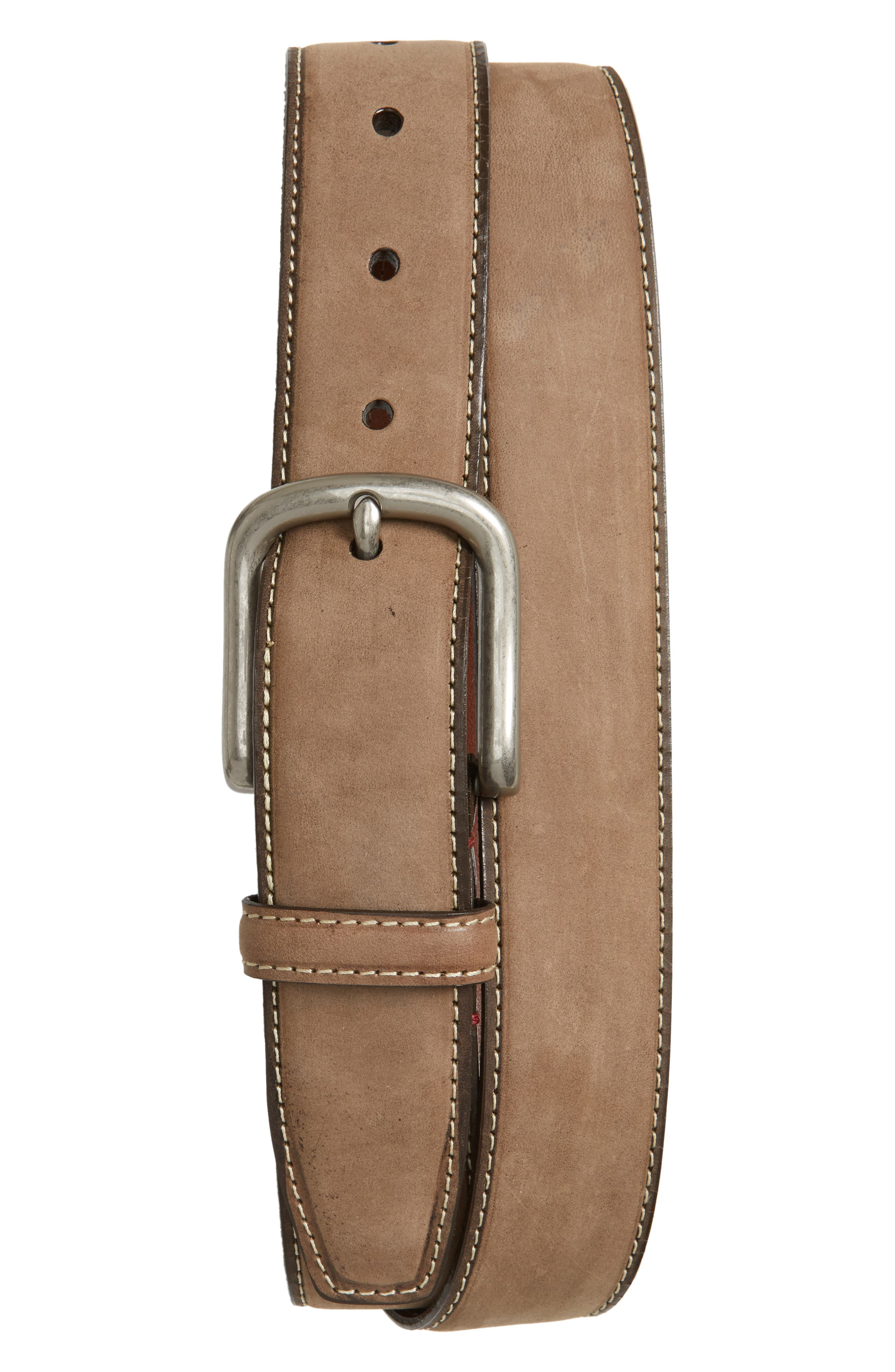 Torino Belts Waxed Nubuck Belt