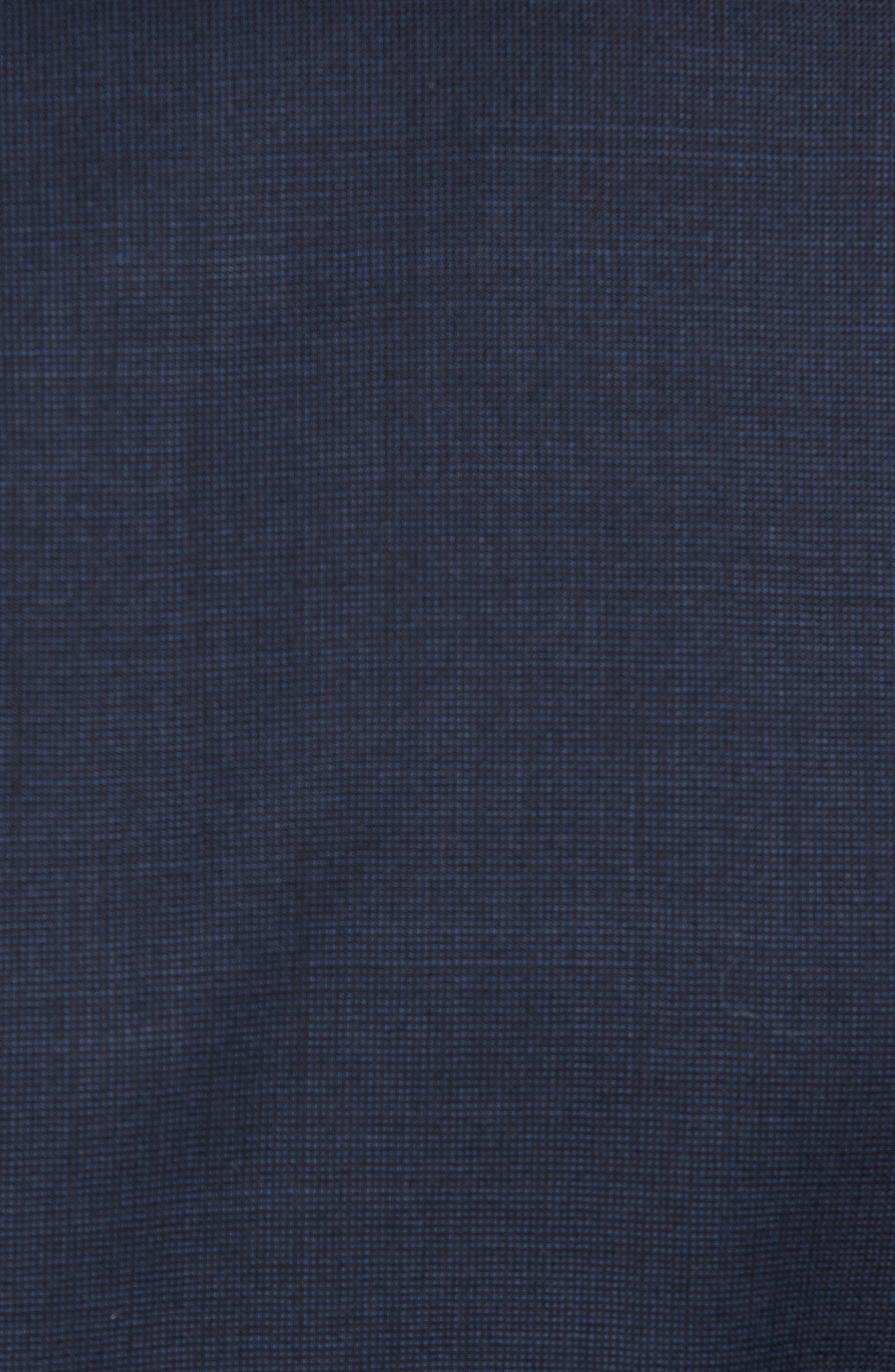 Jay Trim Fit Solid Wool Suit,                             Alternate thumbnail 7, color,                             Navy