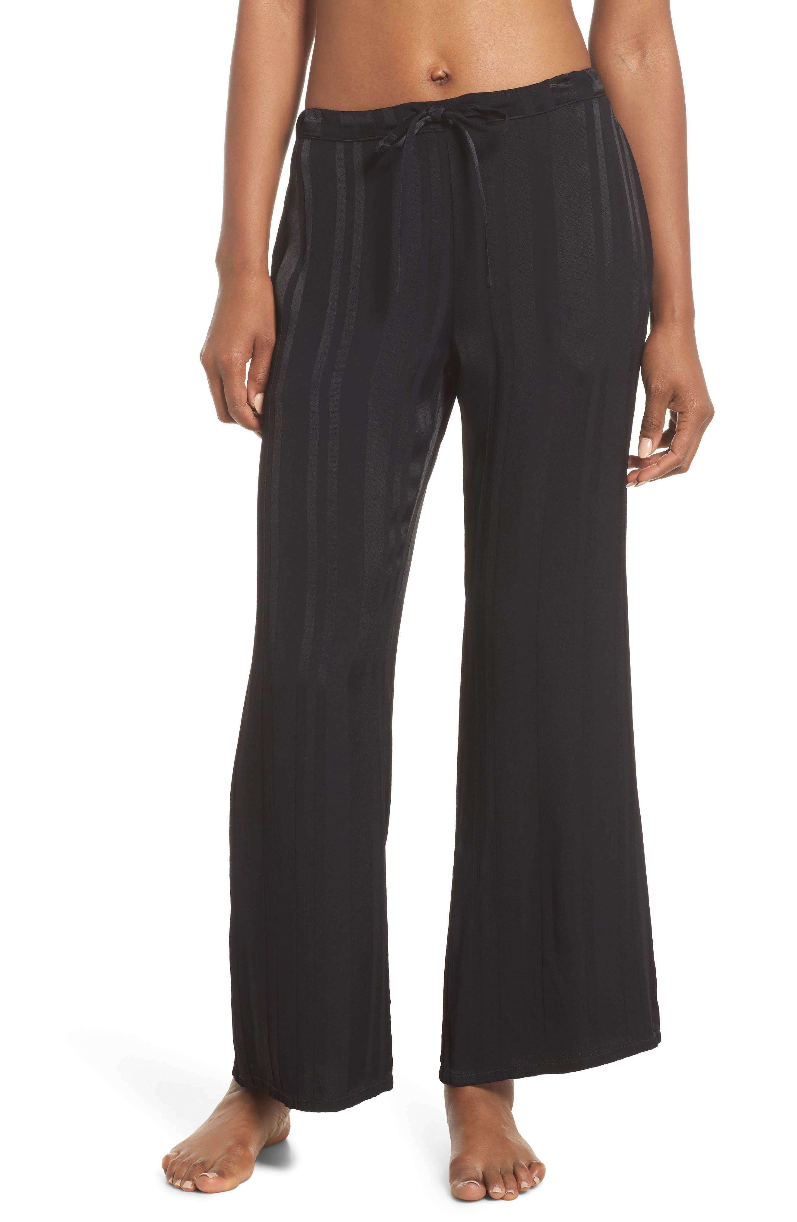 Vela Stripe Lounge Pants,                         Main,                         color, Tar