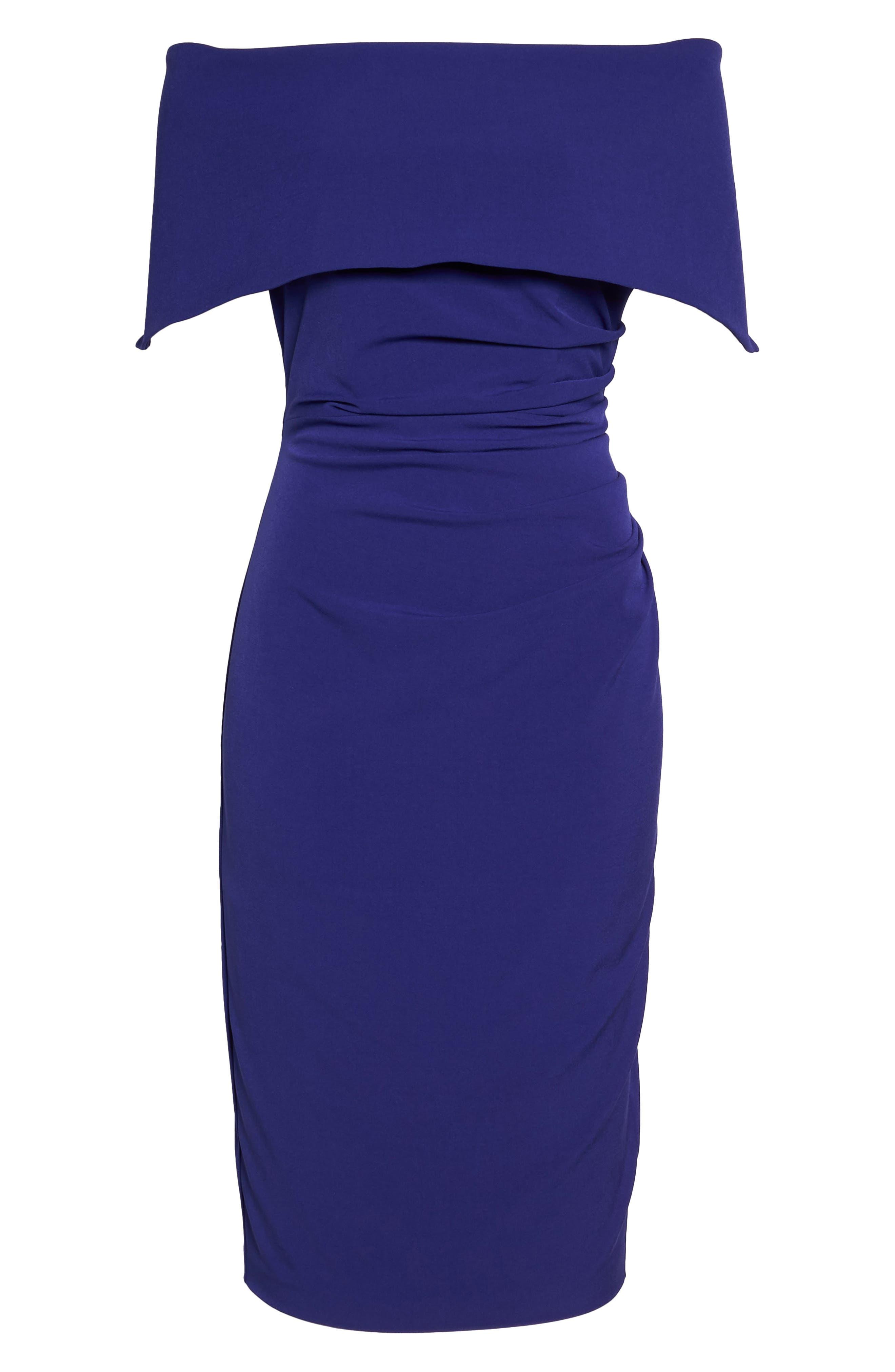 Alternate Image 6  - Vince Camuto Popover Midi Dress