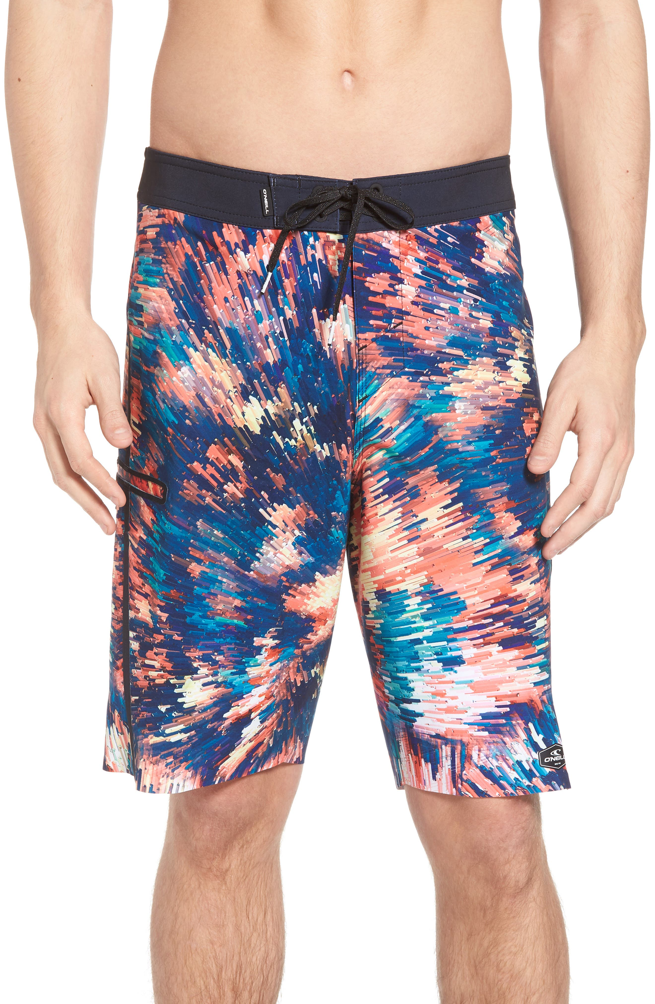 Hyperfreak Crystalize Board Shorts,                         Main,                         color, Multi