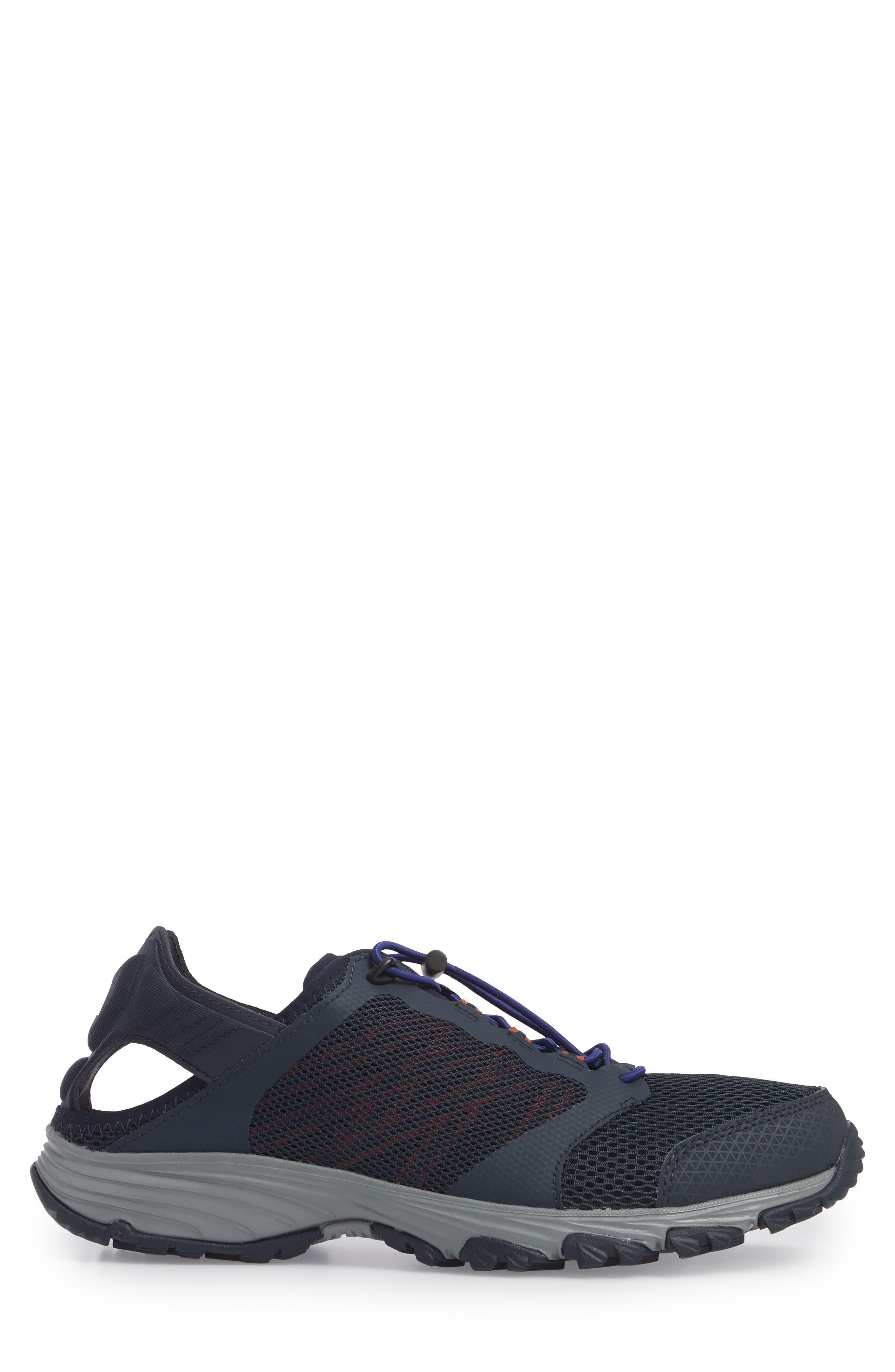 Litewave Amphibious II Collapsible Sneaker,                             Alternate thumbnail 3, color,                             Urban Navy/ Brit Blue