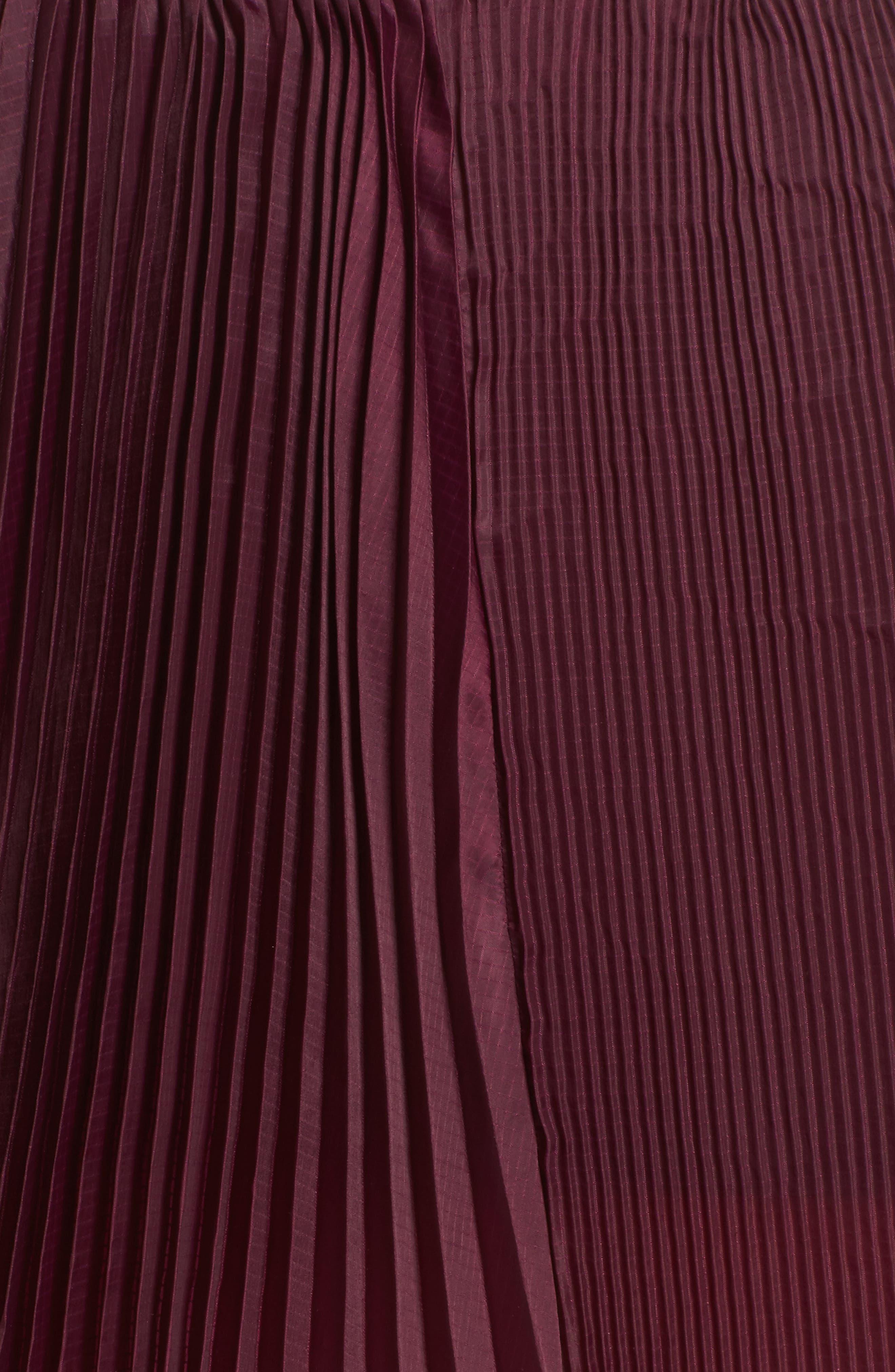 NikeLab Collection Dri-FIT Tennis Skirt,                             Alternate thumbnail 6, color,                             Bordeaux