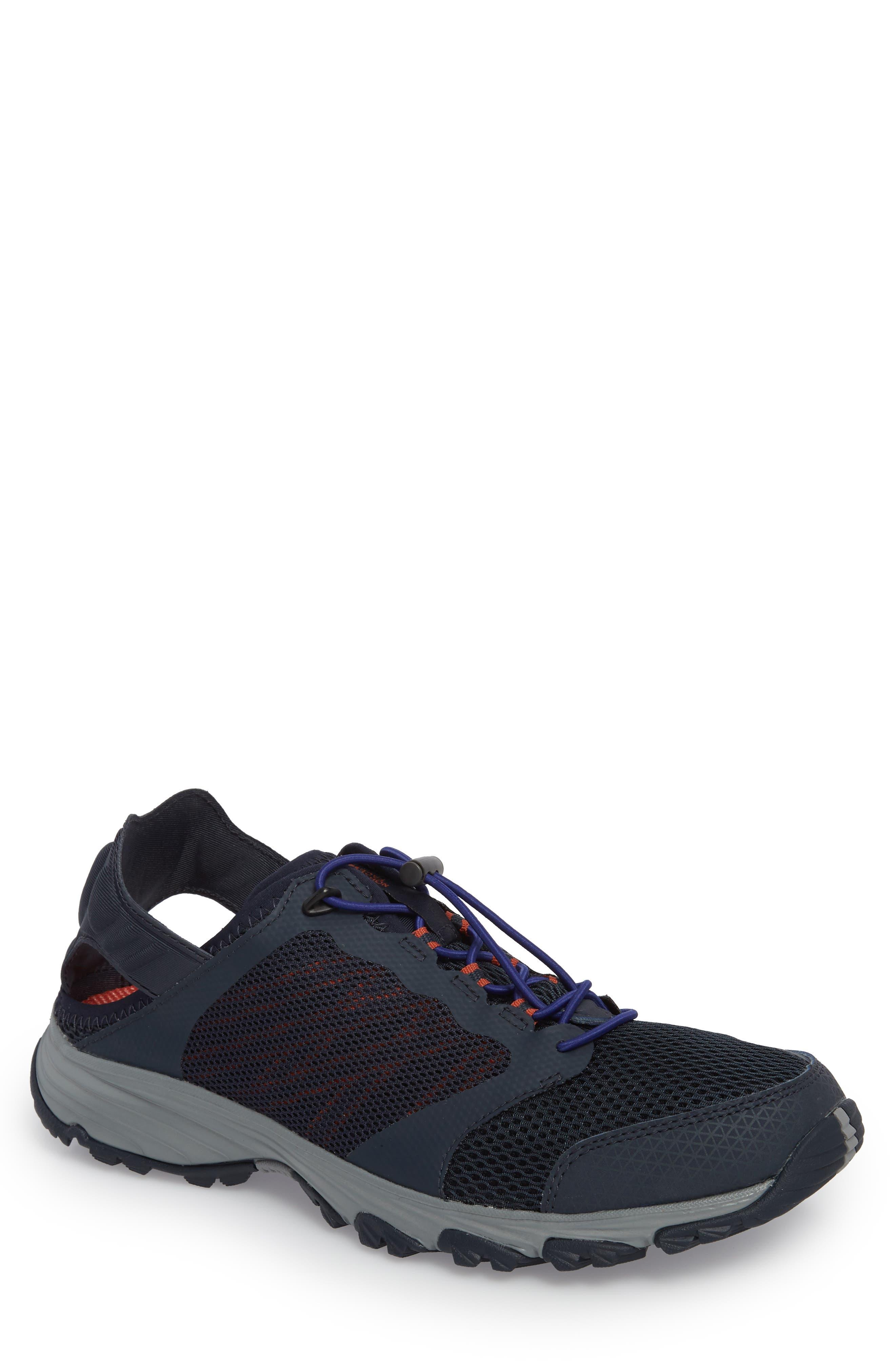 Litewave Amphibious II Collapsible Sneaker,                             Main thumbnail 1, color,                             Urban Navy/ Brit Blue