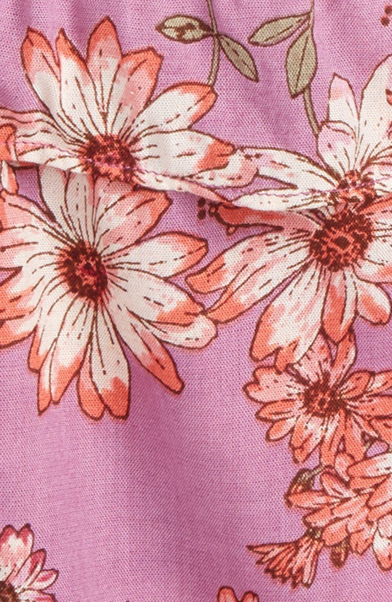 Hula Cold Shoulder Top,                             Alternate thumbnail 2, color,                             Dusty Lavender