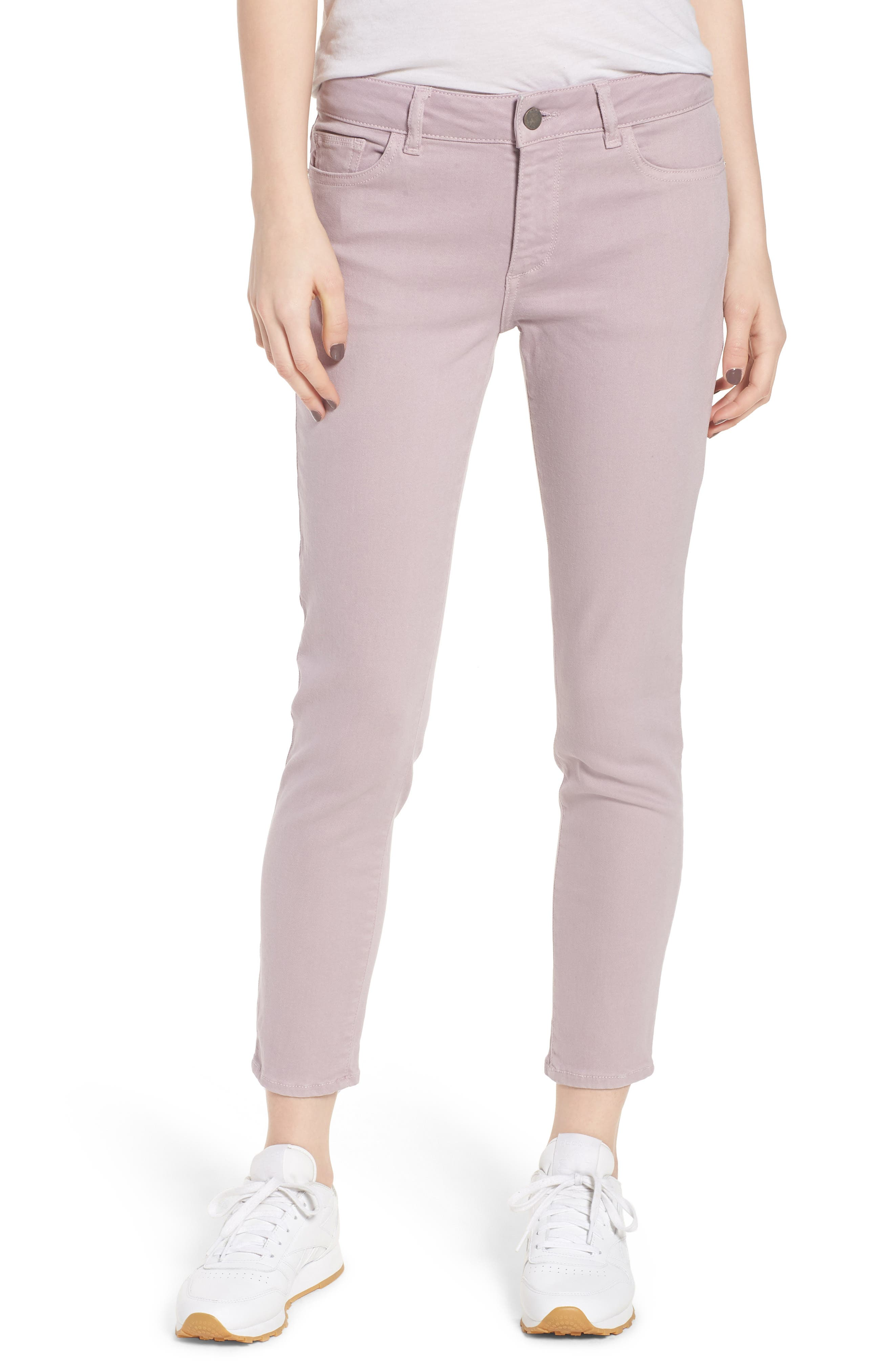 Florence Instasculpt Crop Skinny Jeans,                         Main,                         color, Magnolia