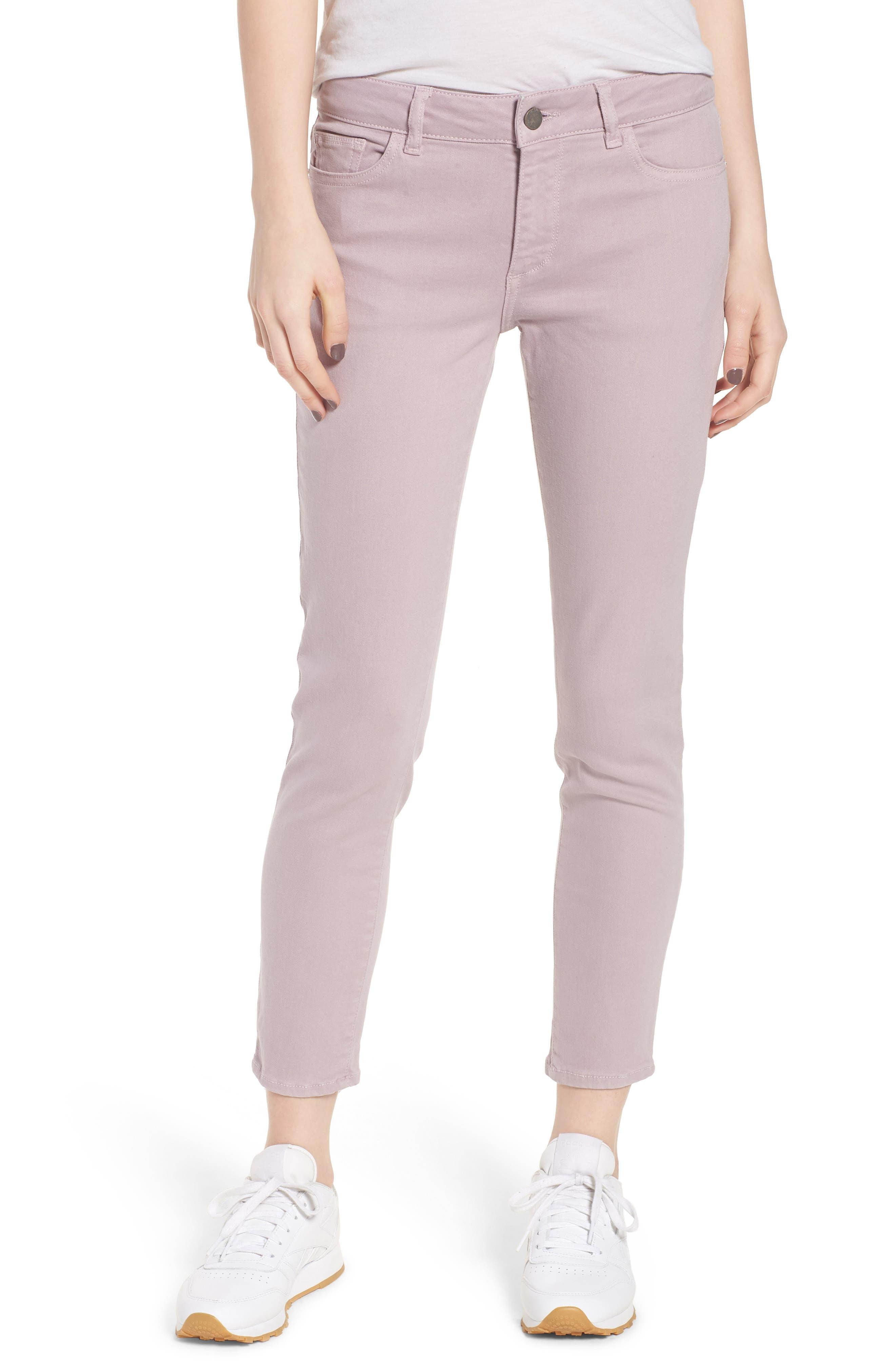 DL1961 Florence Instasculpt Crop Skinny Jeans (Magnolia)