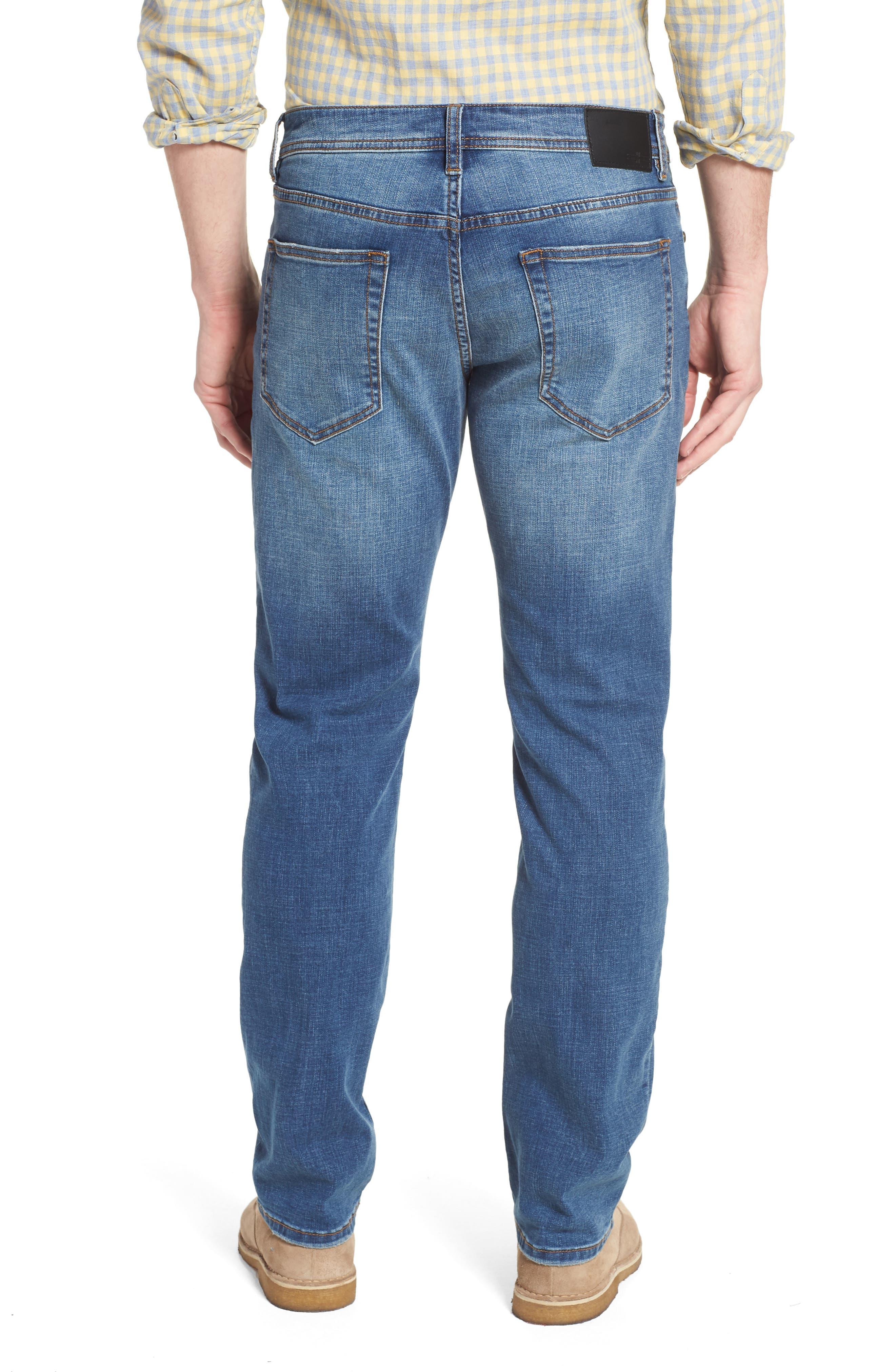 Jeans Co. Regent Relaxed Straight Leg Jeans,                             Alternate thumbnail 2, color,                             Highlander Mid