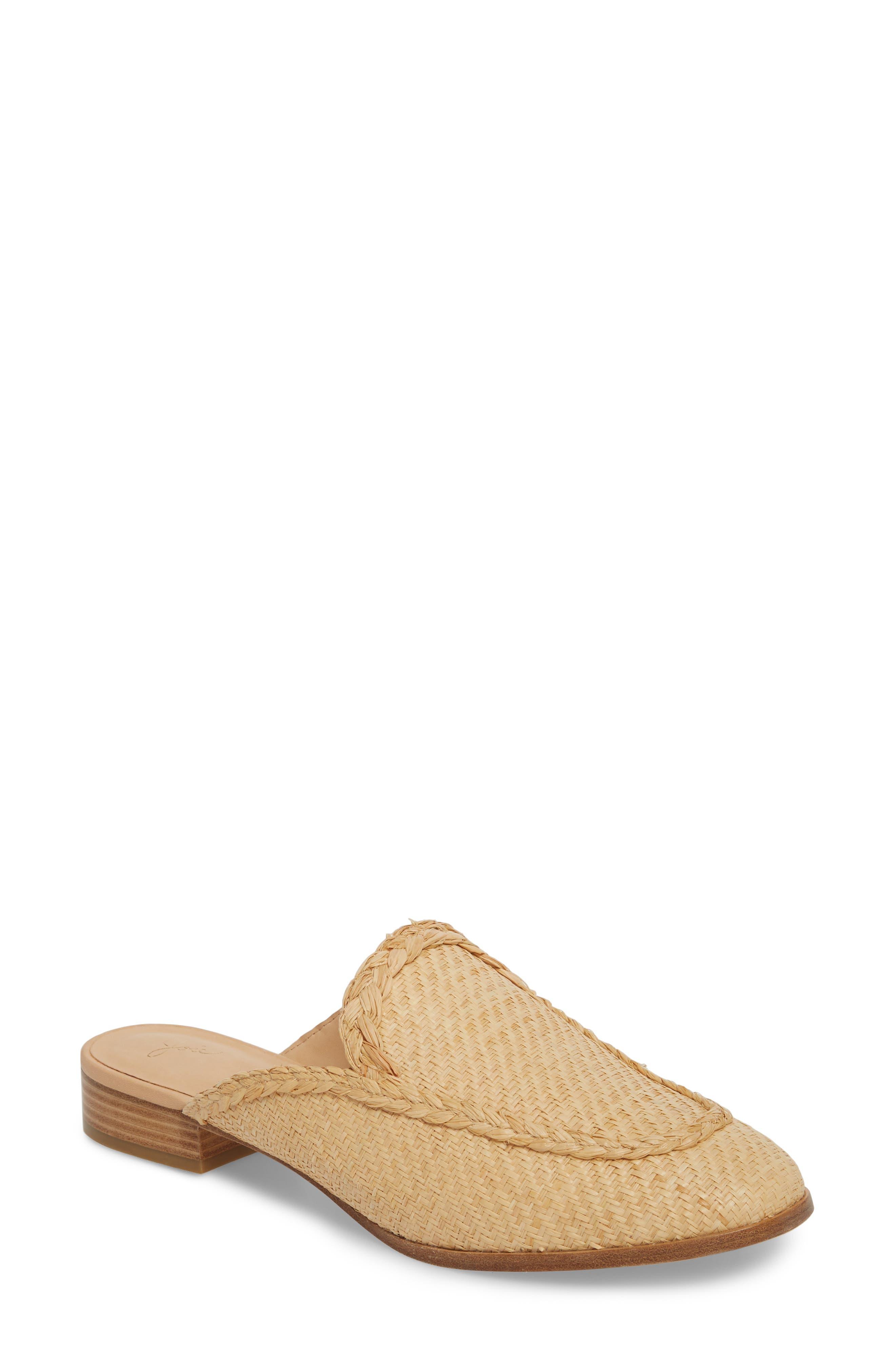 Joie Dallis Woven Loafer Mule (Women)