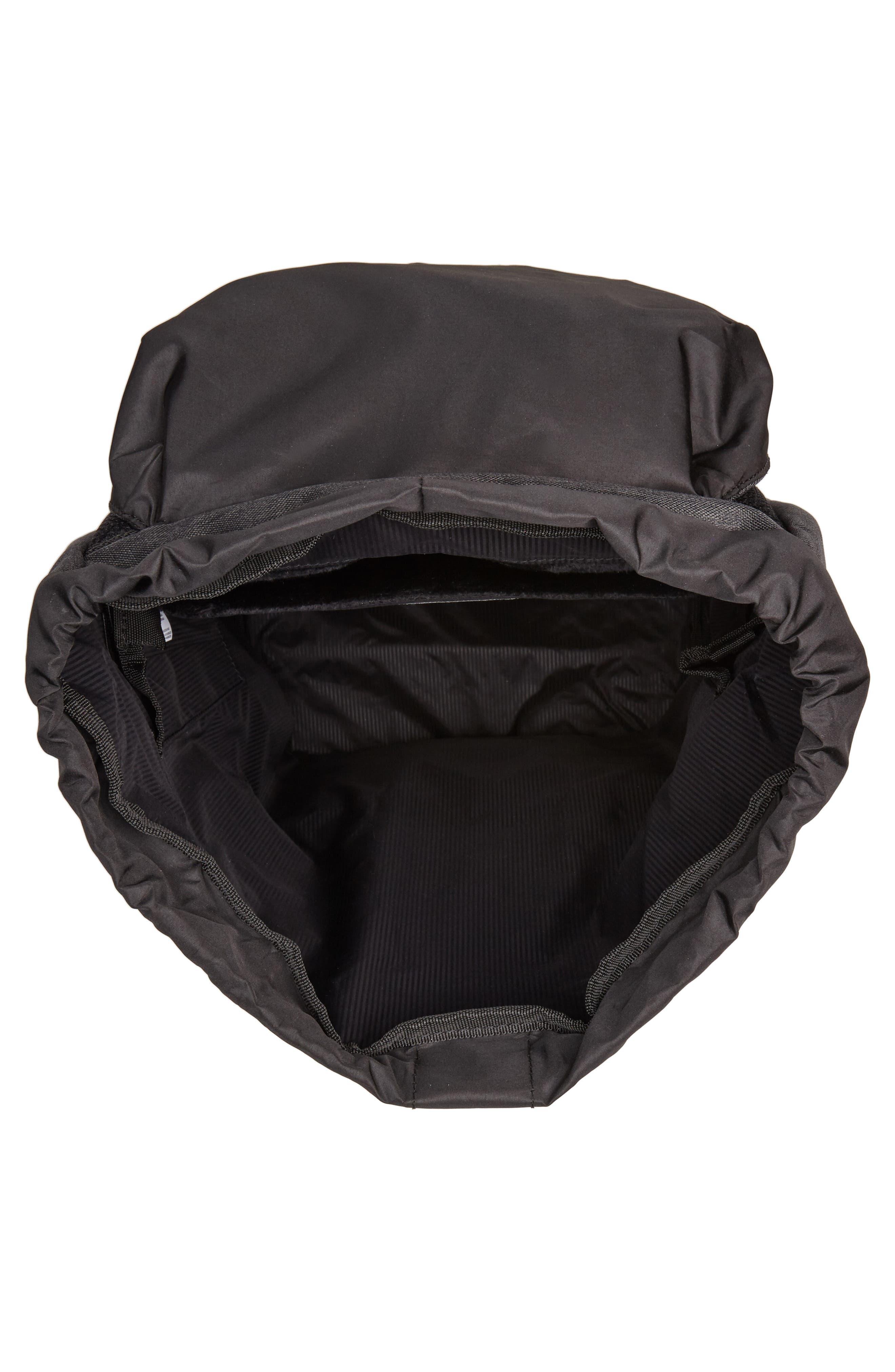 Little America - Reflective Backpack,                             Alternate thumbnail 4, color,                             Black Crosshatch/ Reflective