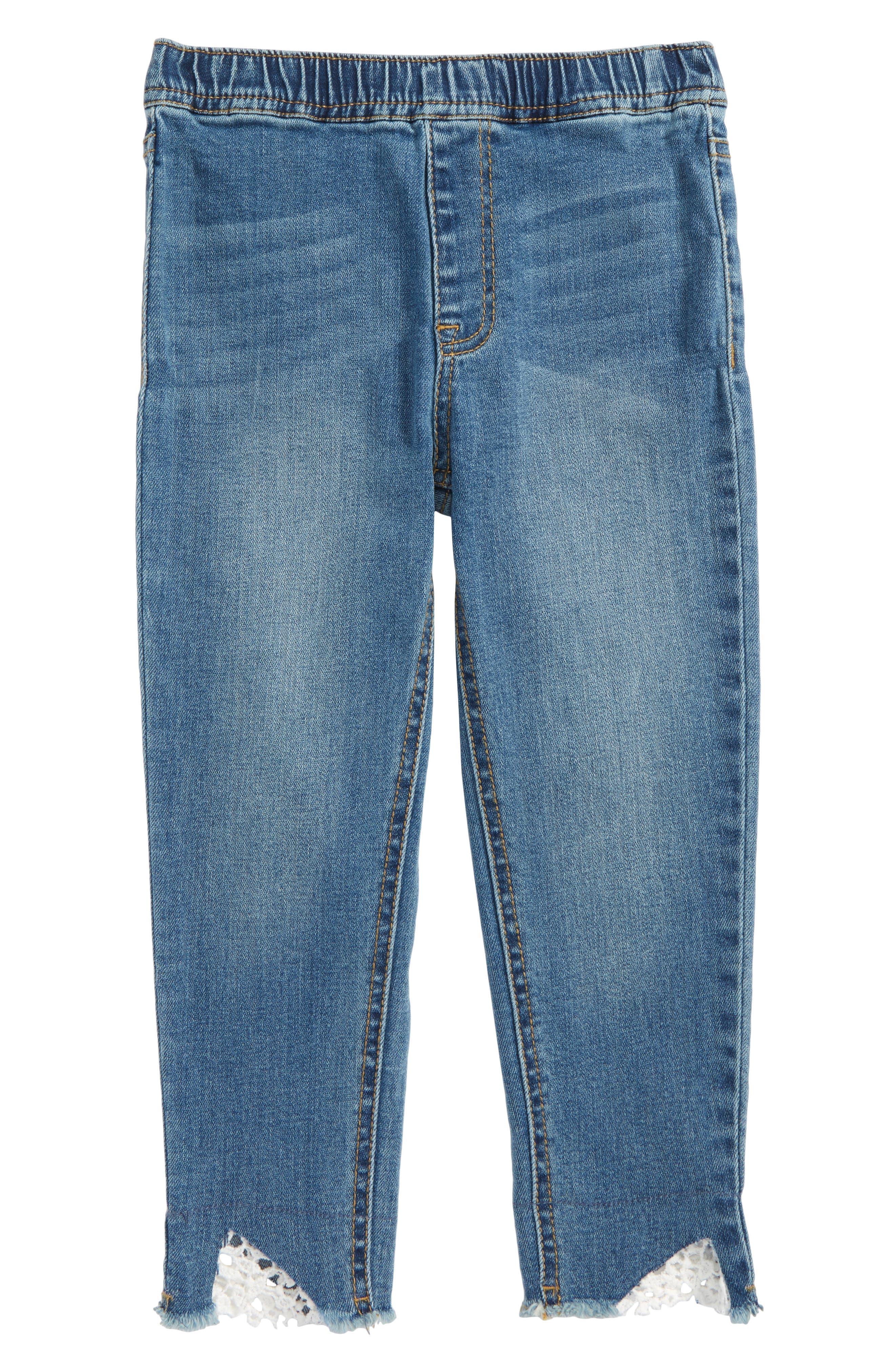 Crop Jeans,                             Main thumbnail 1, color,                             Lagoon Wash