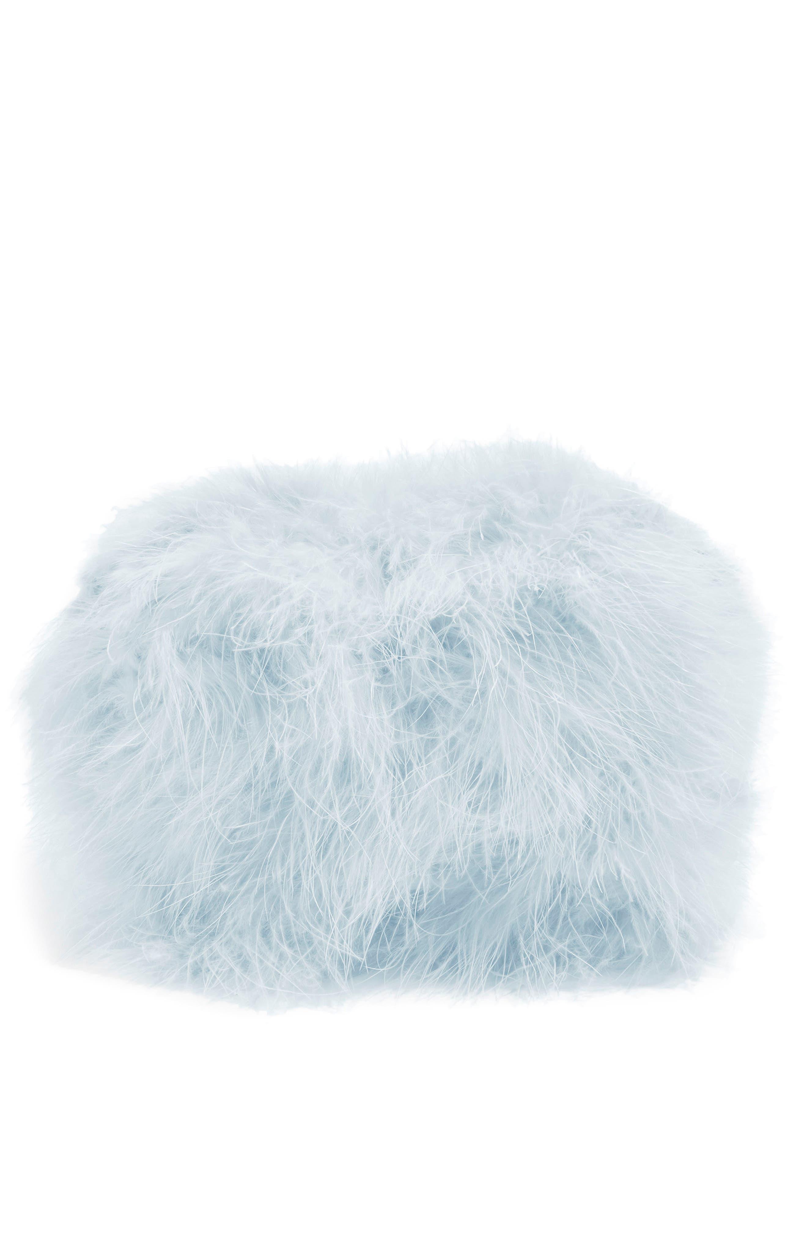 Topshop Riga Feather Crossbody Bag