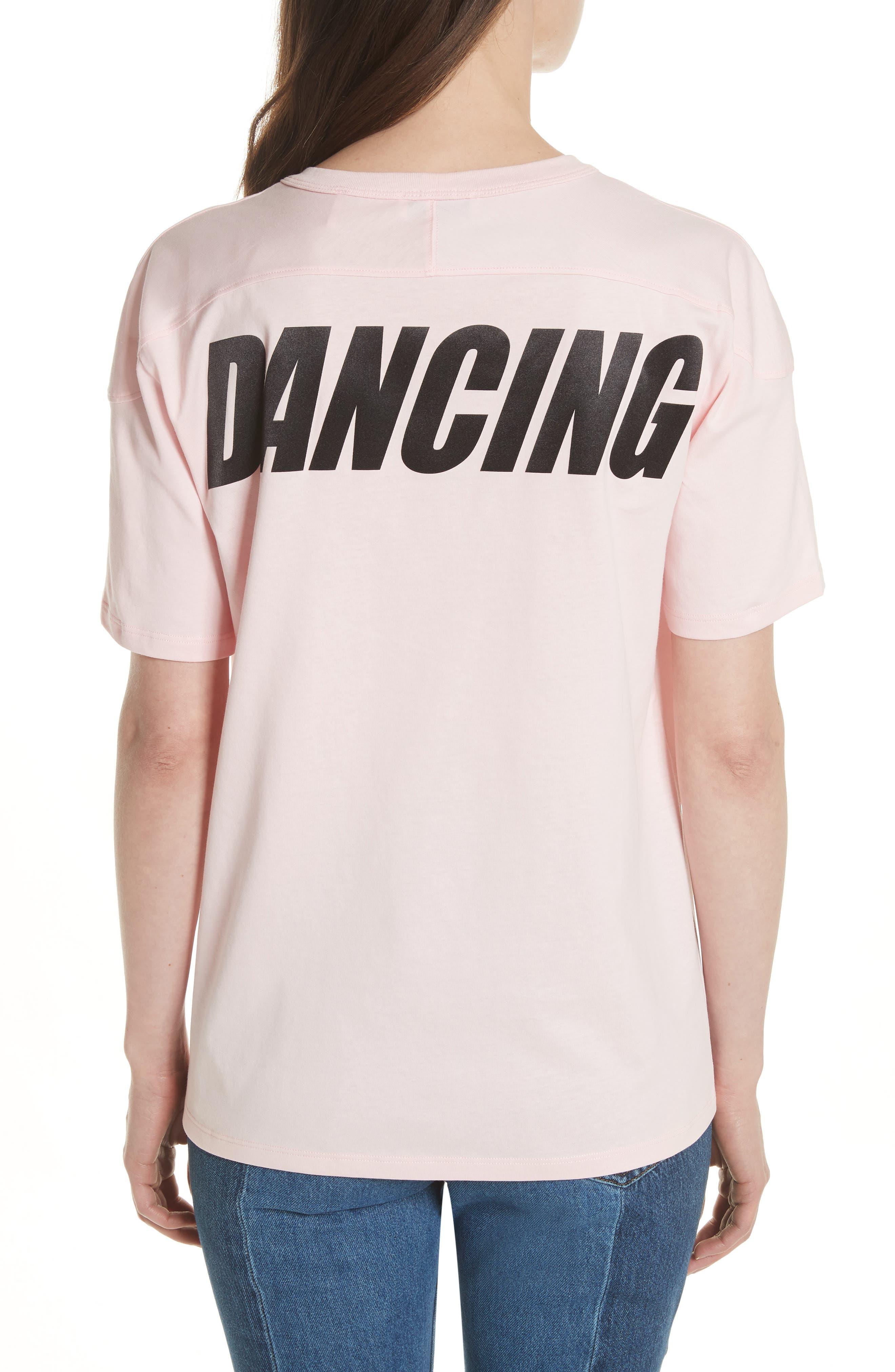 Keep on Dancing Tee,                             Alternate thumbnail 2, color,                             Pink