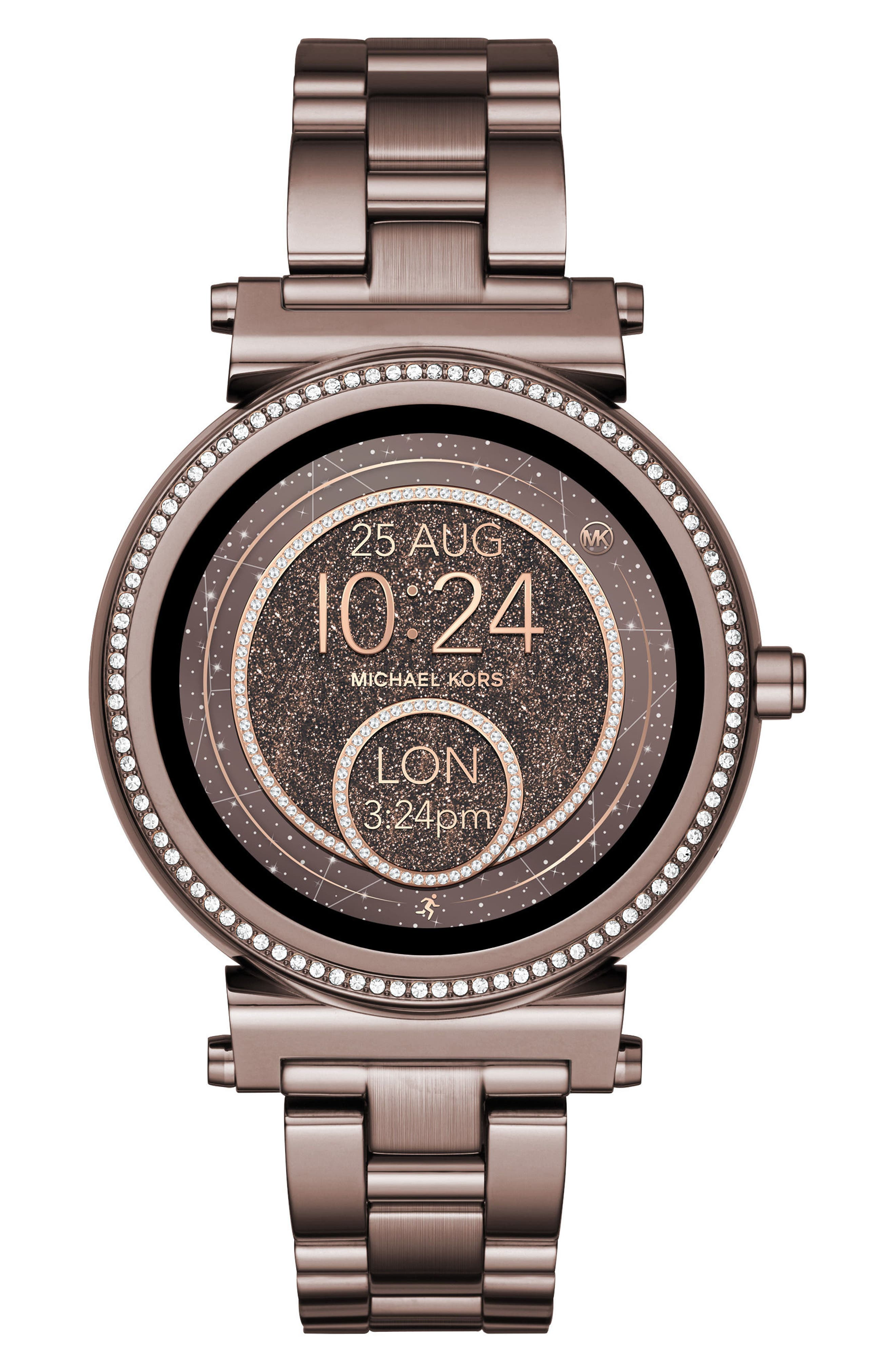 Sofie Smart Bracelet Watch, 42mm,                         Main,                         color, Sable