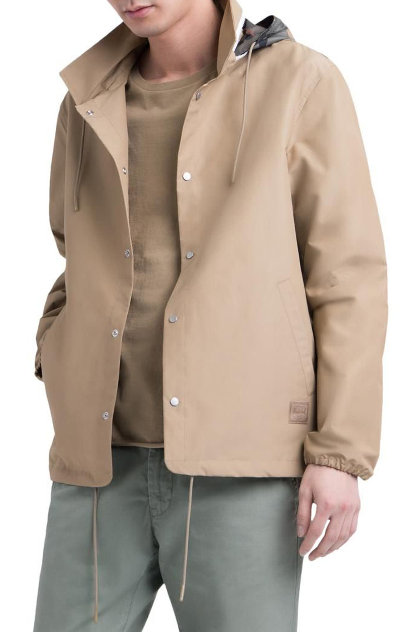 Herschel Supply Co. Hooded Coach's Jacket