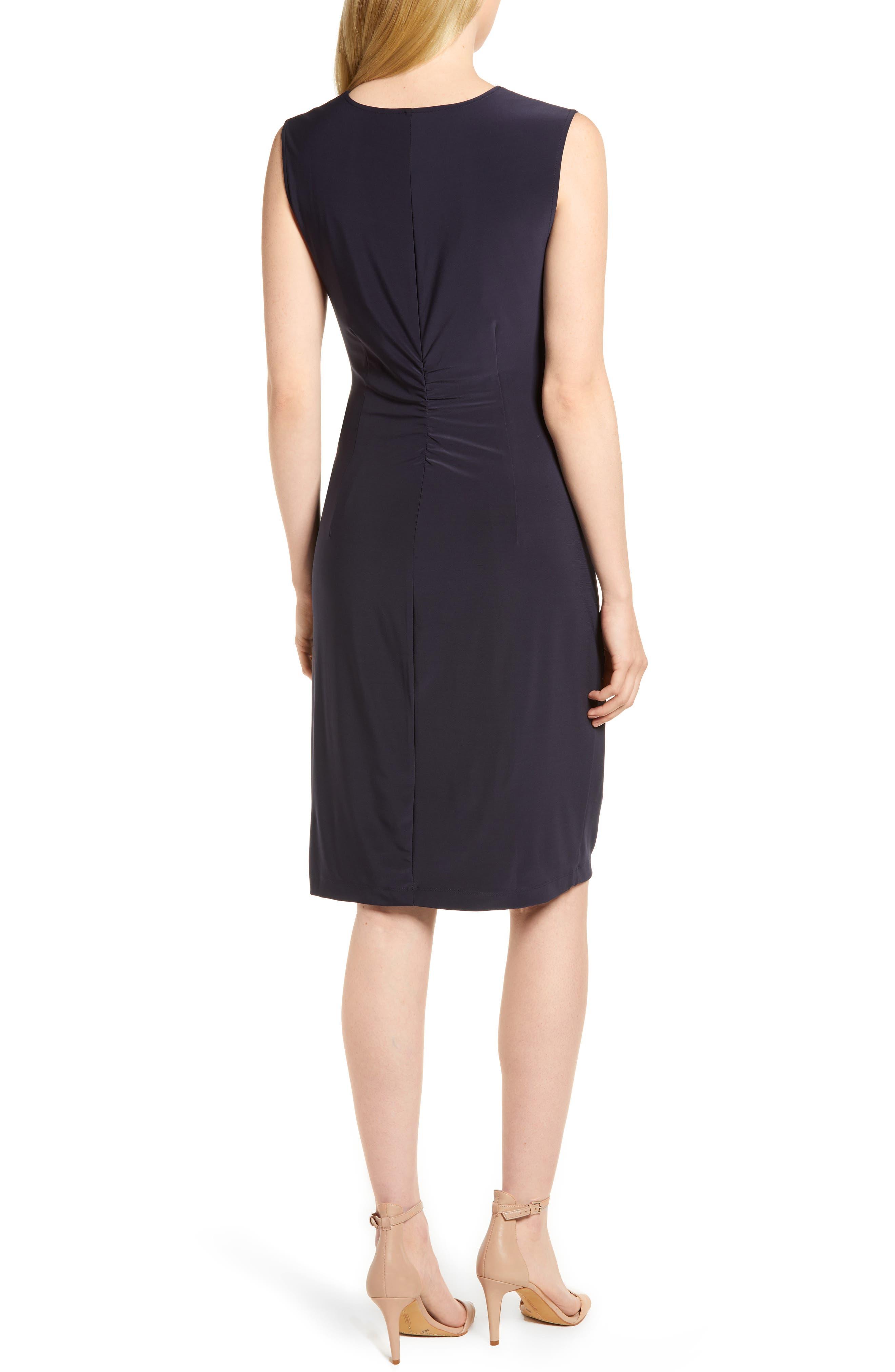 Alternate Image 2  - NIC+ZOE Twist Side Matte Jersey Dress