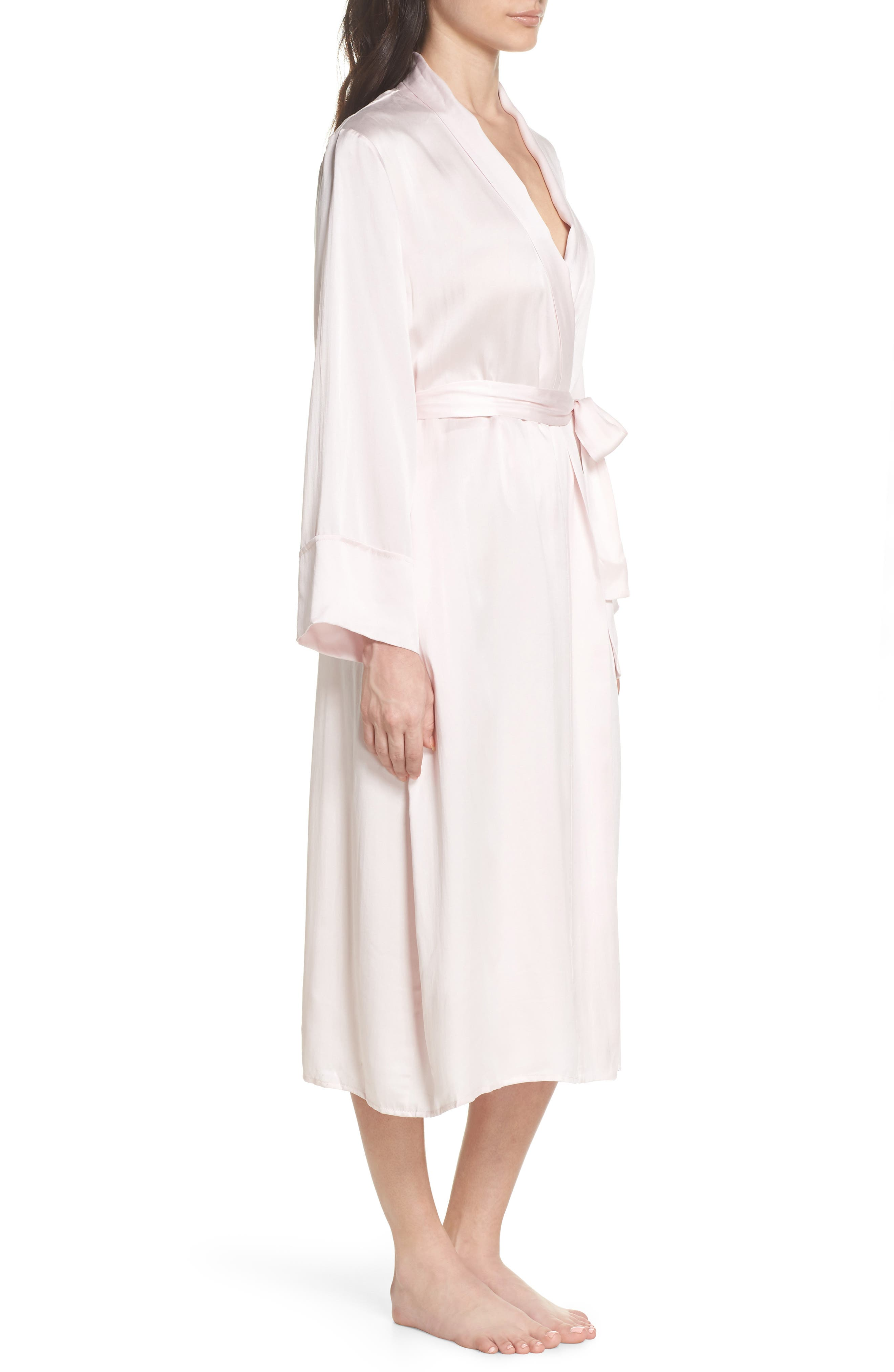 Alternate Image 3  - Papinelle Silk Robe
