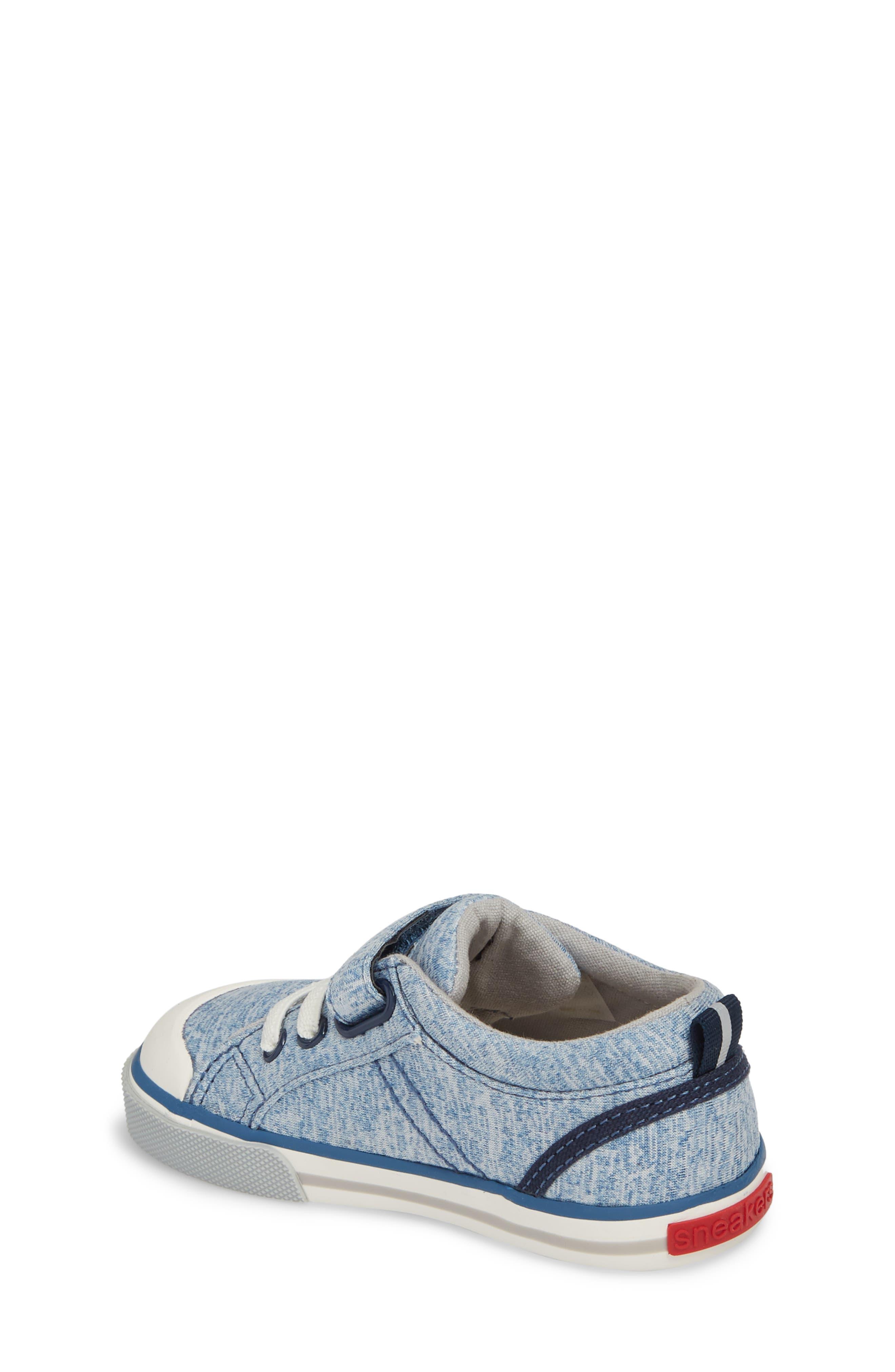 Tanner Sneaker,                             Alternate thumbnail 2, color,                             Blue Jersey