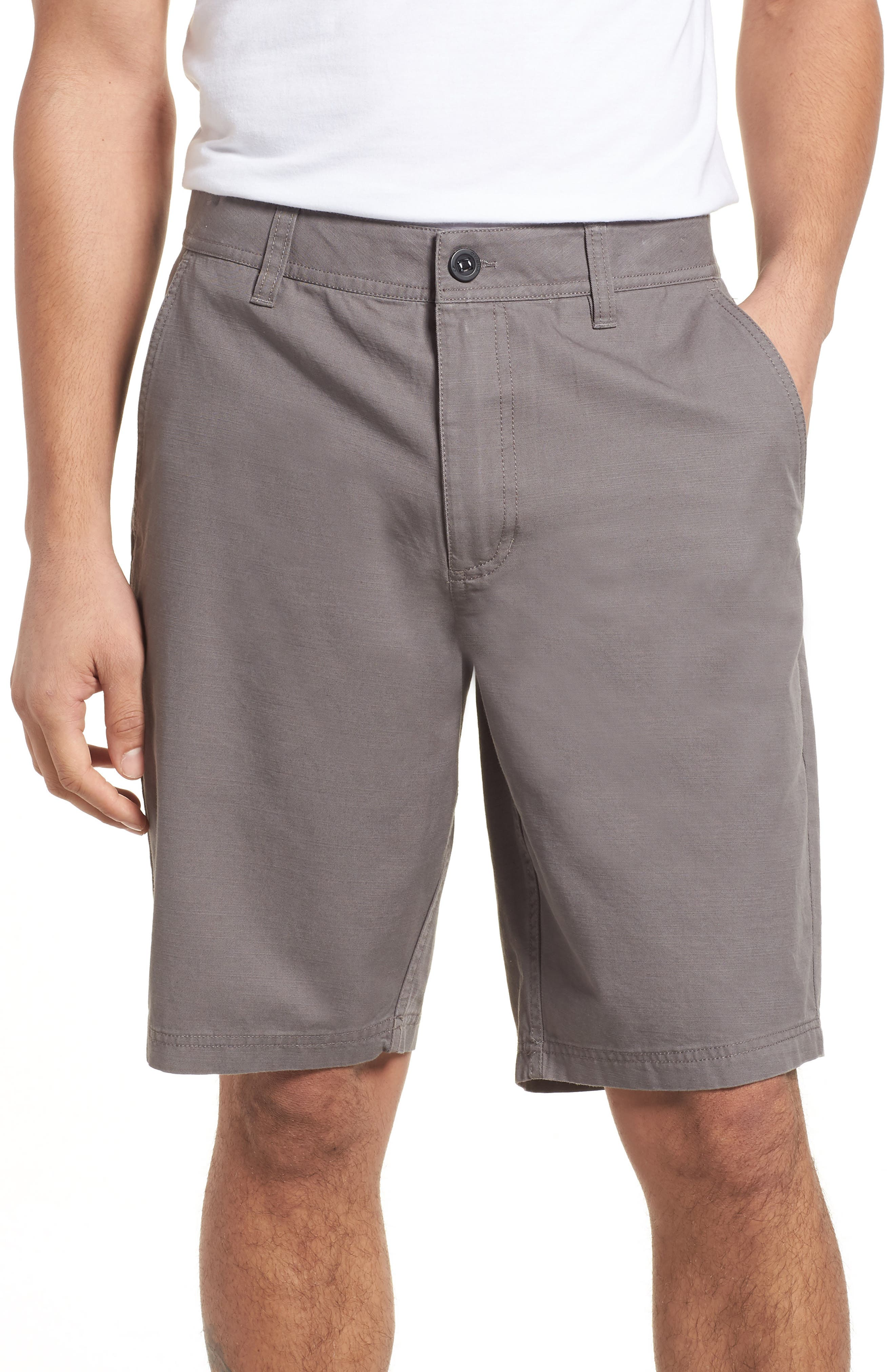 Jay Chino Shorts,                         Main,                         color, Grey
