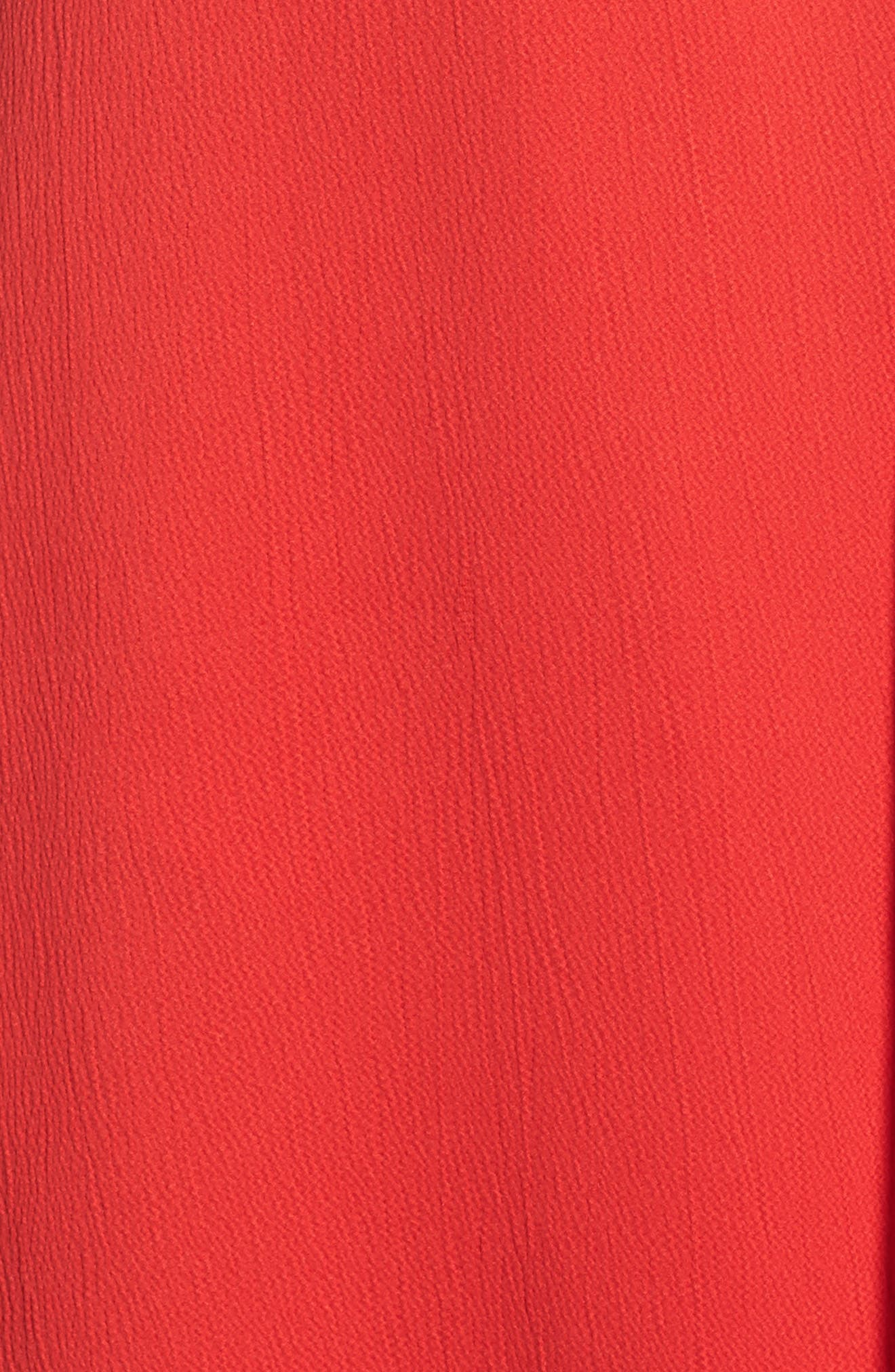 Alternate Image 5  - French Connection Maudie Ruffle Midi Dress